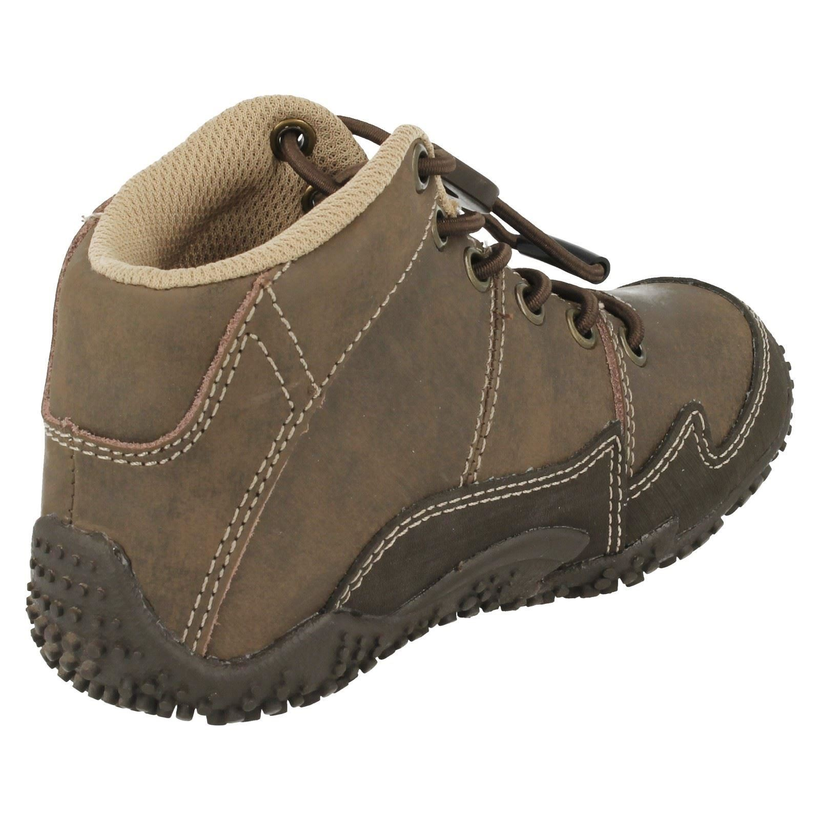 Boys CAT Lace Up Casual Boots Andre
