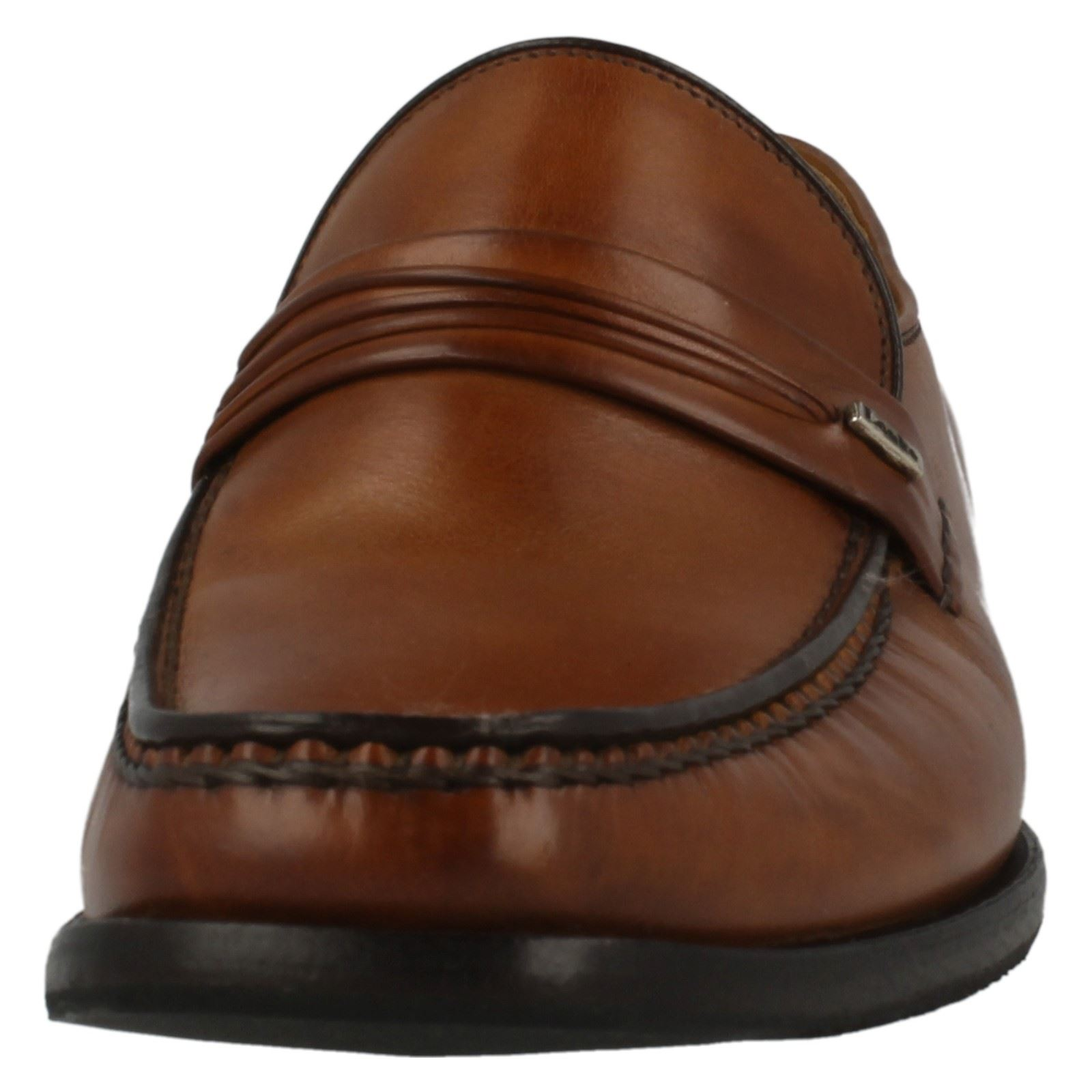 Mens Loake Leather Moccasin Slip On Shoes Palermo 2