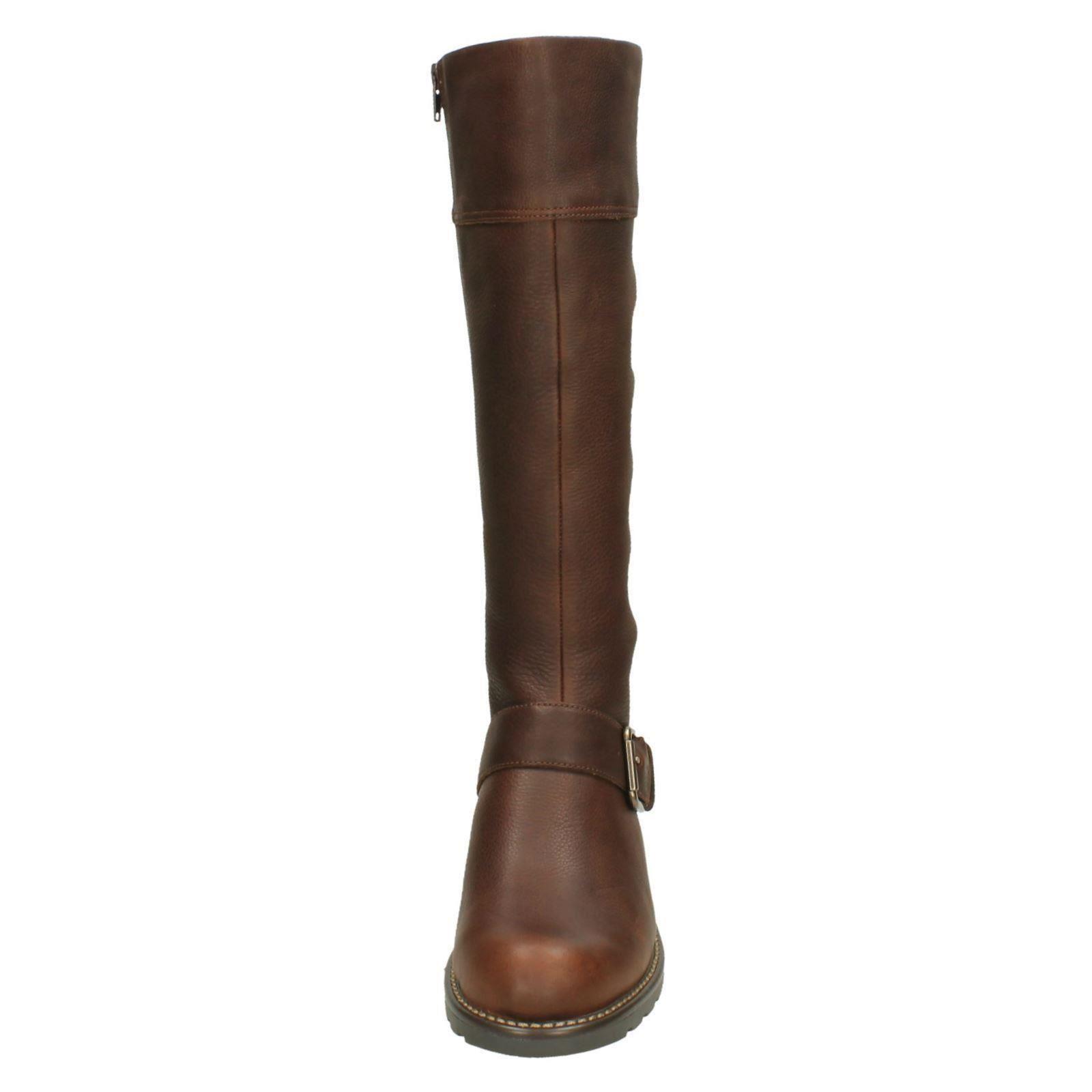 0a392905b612 Ladies-Clarks-Knee-High-Boots-039-Orinoco-Jazz-