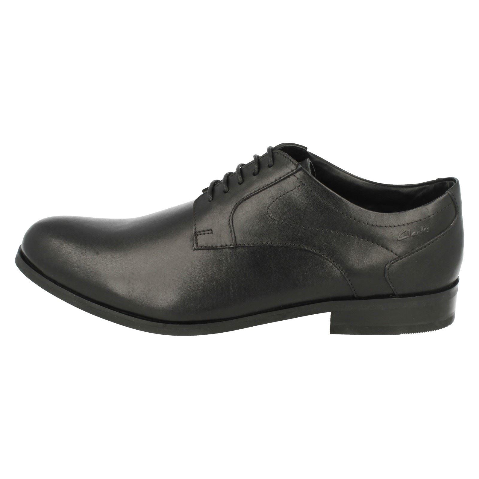 hombre Brint para Plain zapatos negro Clarks formales nCwUZUW