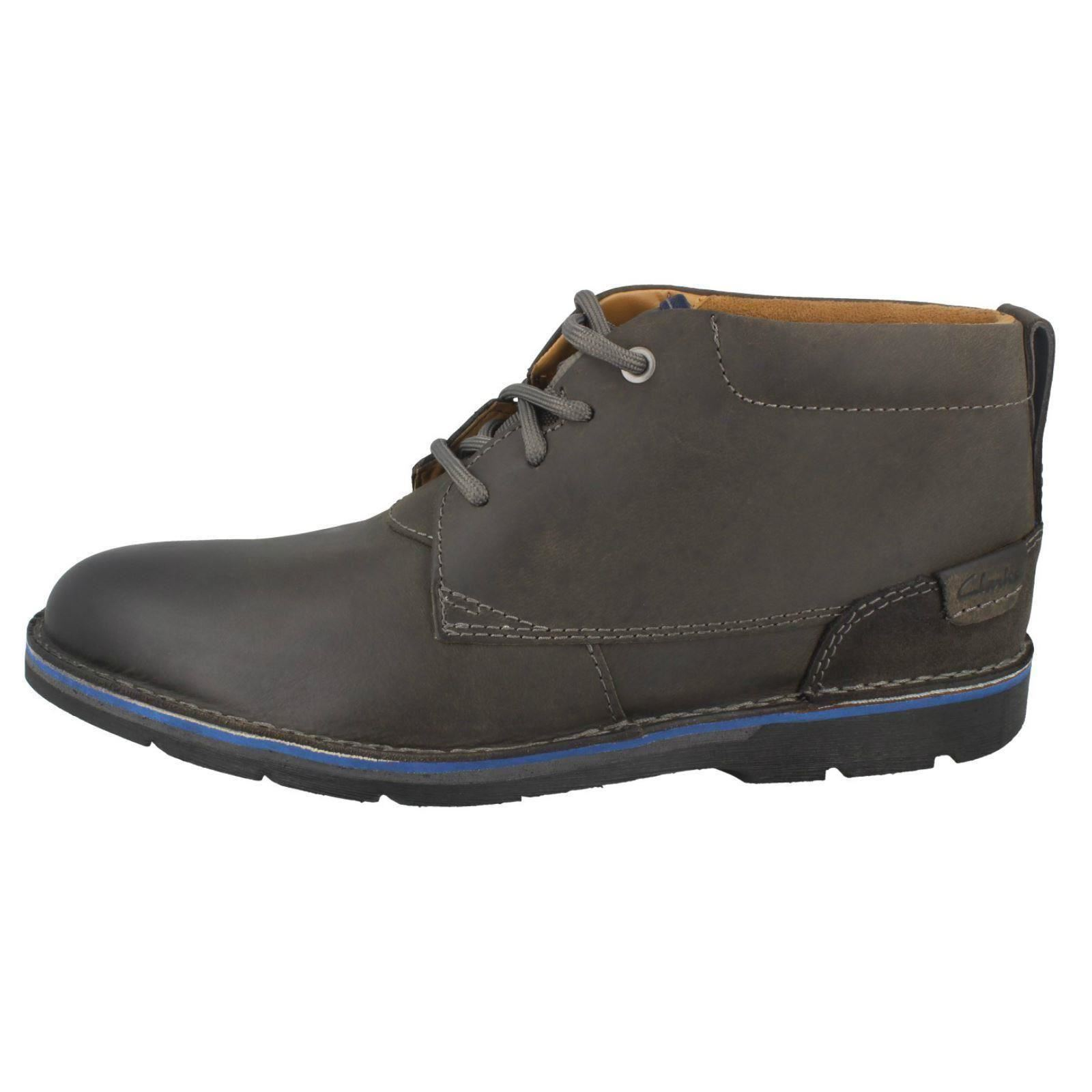 Mens Clarks Casual Boots Edgewick Mid