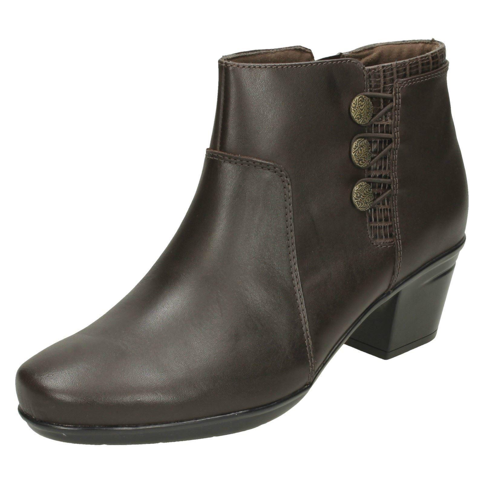 Ladies-Clarks-Emslie-Monet-Ankle-Boots
