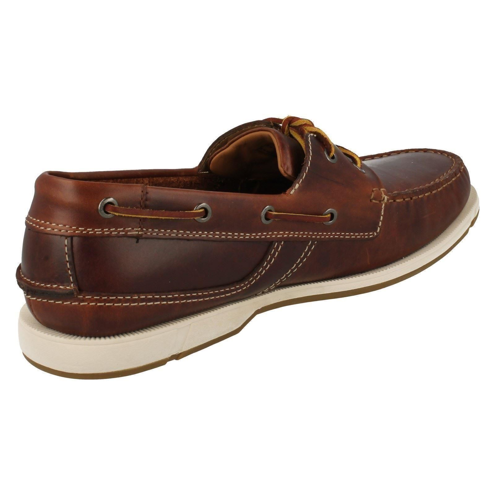 Mens Clarks Clarks Clarks Deck Style Smart/Casual Shoes Fulmen Row 6bdc67