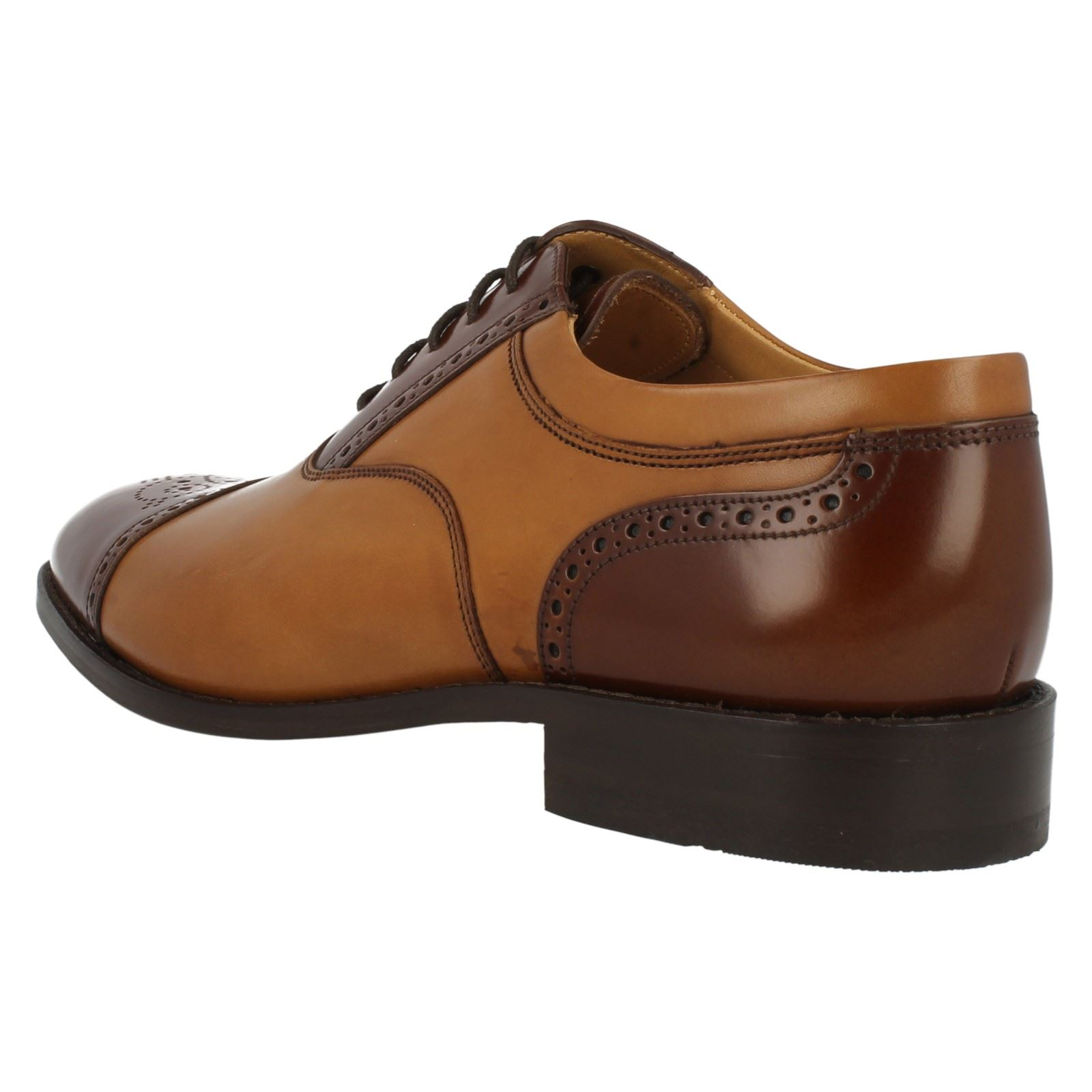 Mens Loake Loake Loake Smart Leather Lace Up Shoes Woodstock c655fb