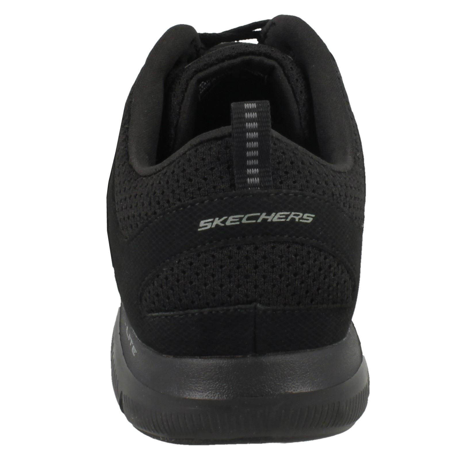 Simplistic Skechers Skechers Ladies Trainers Simplistic Ladies Black Simplistic Skechers Black Trainers Trainers Ladies qER6pRg