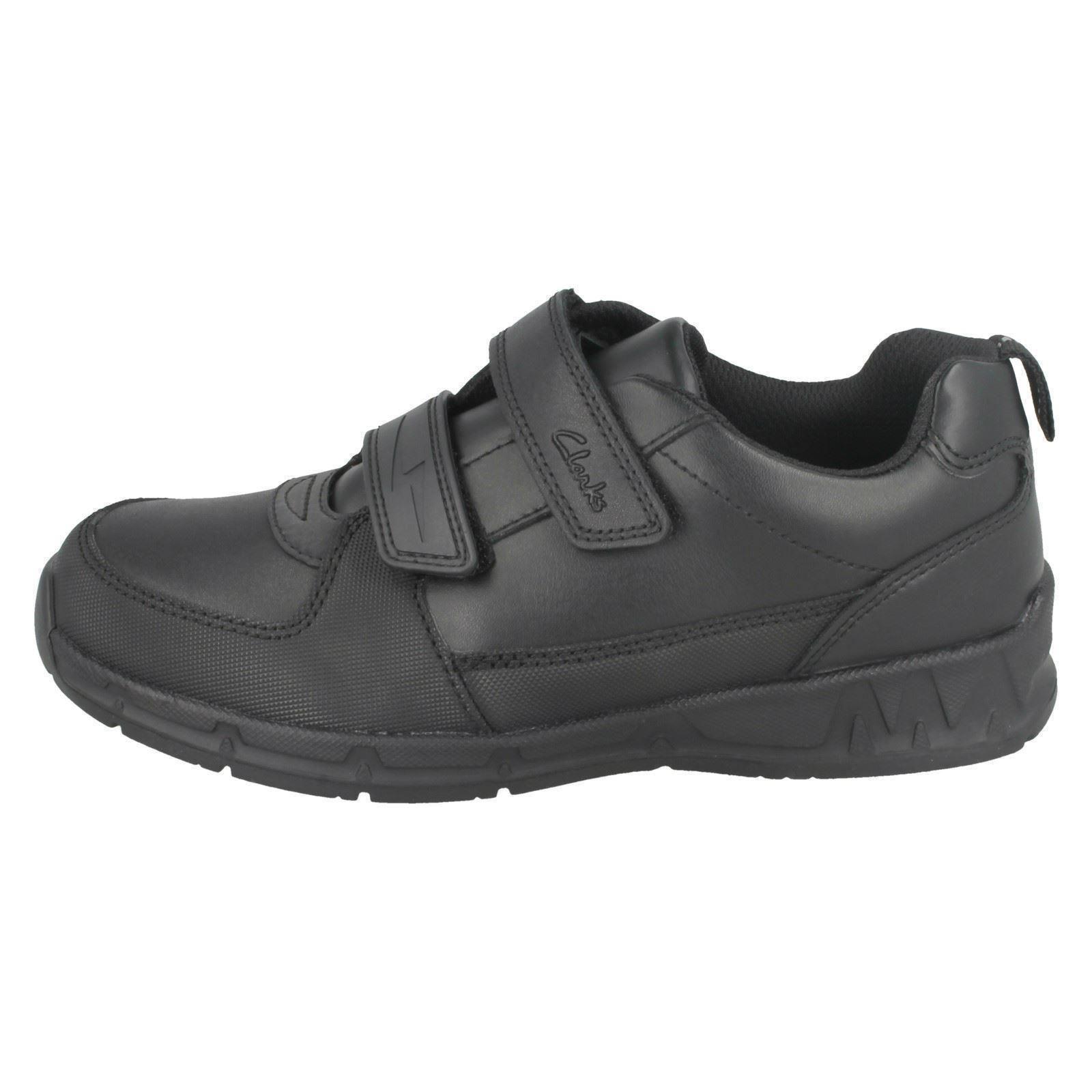 Maris Fire para escuela Gloforms Black doble By Clarks correa con de la niños formales Zapatos OY7wqq