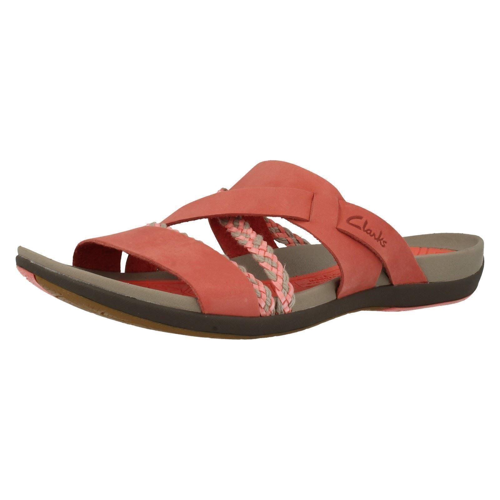 clarks tealite slide sandals