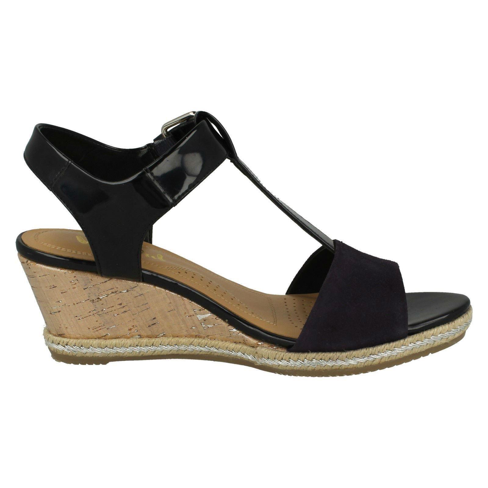 Ladies-Van-Dal-Wedged-Heel-Sandals-Jordan thumbnail 10
