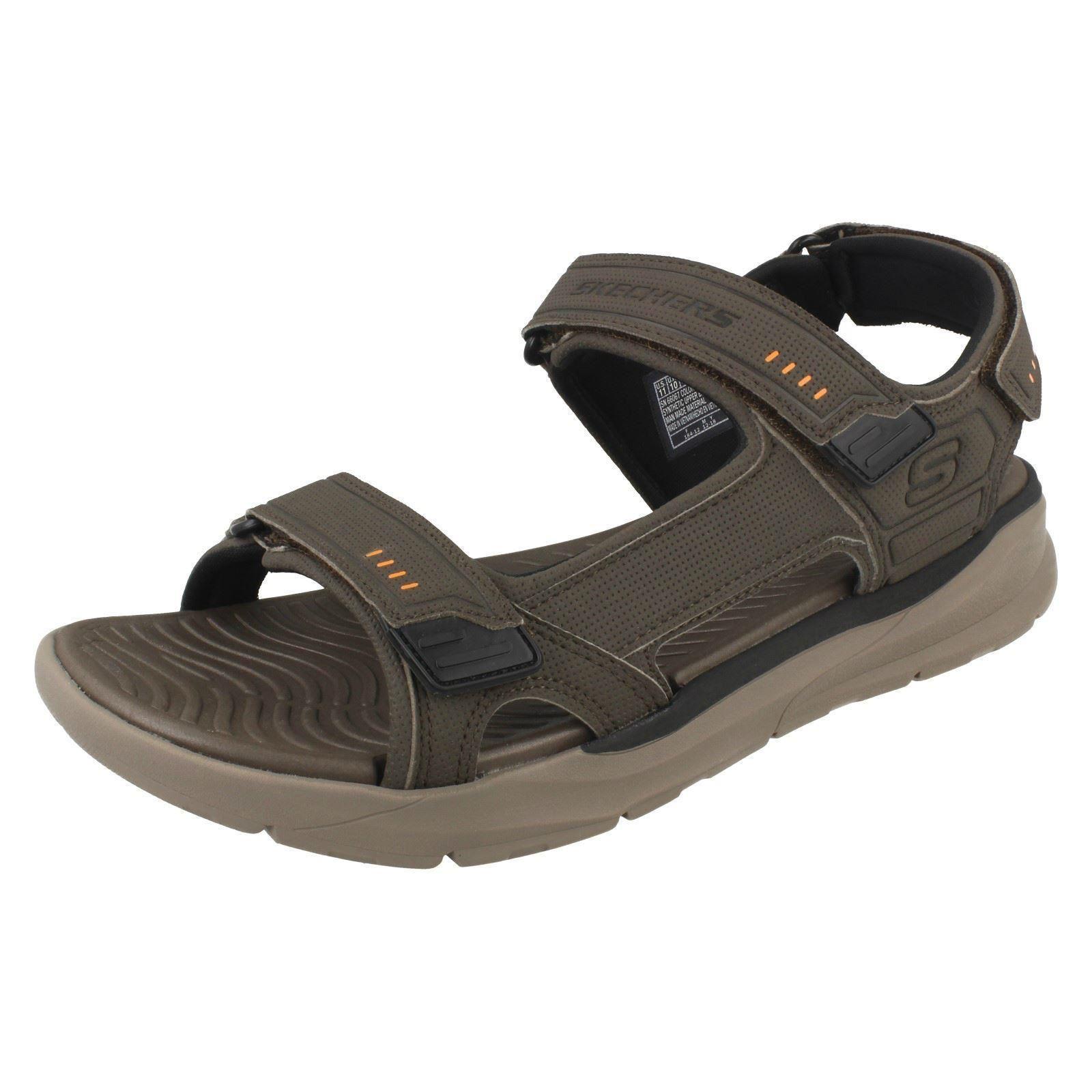 Details zu 'Mens Skechers' Relaxed Fit Memory Foam Sandals SencoSenco
