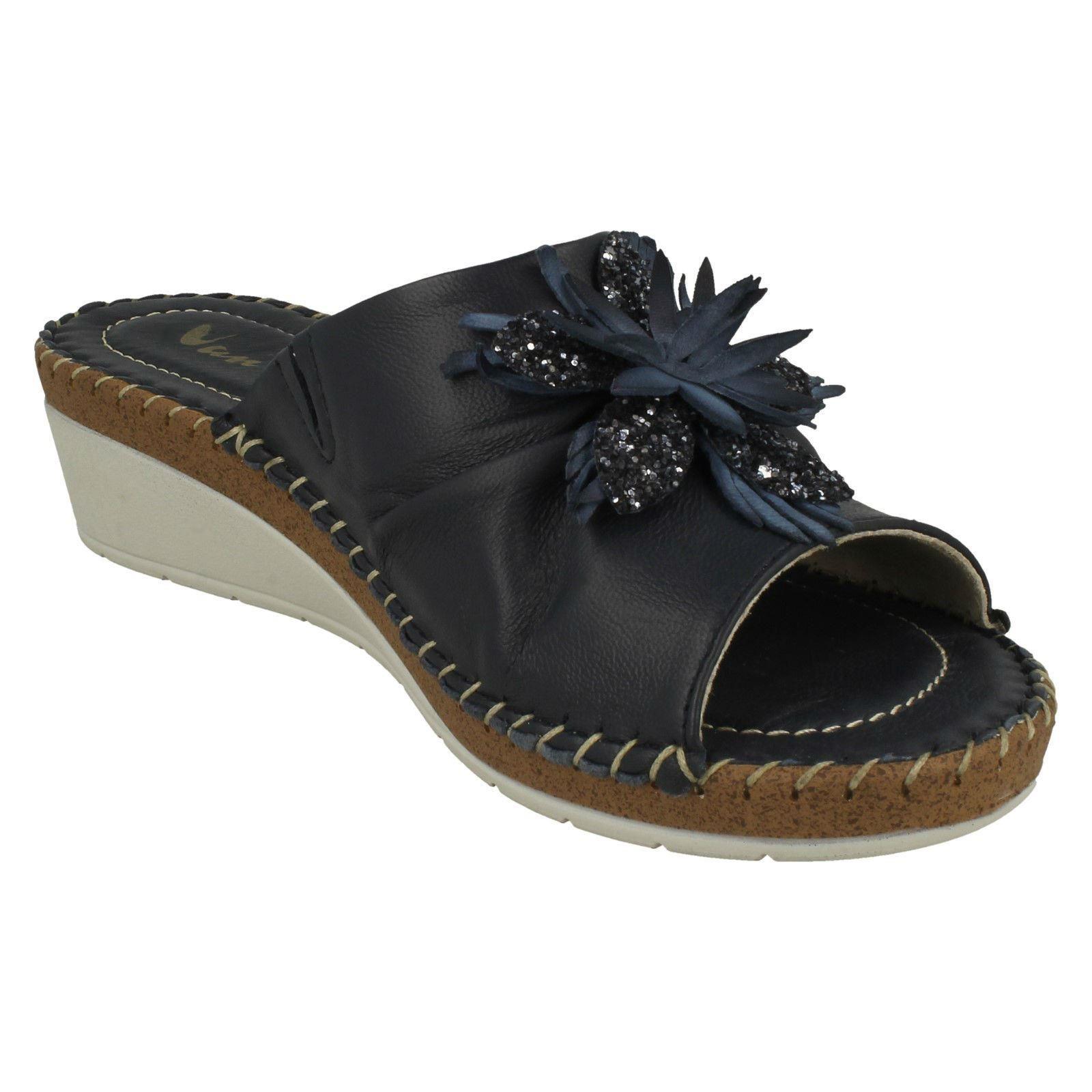 Ladies-Van-Dal-Wedge-Heel-Mule-Sandals-039-Banks-039 thumbnail 16