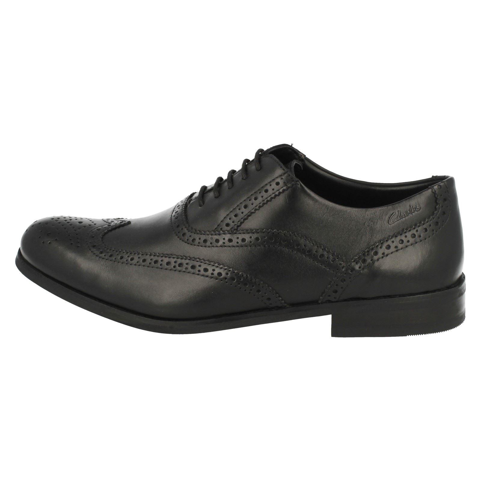 Formal Clarks hombre Shoes Clarks Brogue' 'brint Negro Brogue para nvTqqwFg