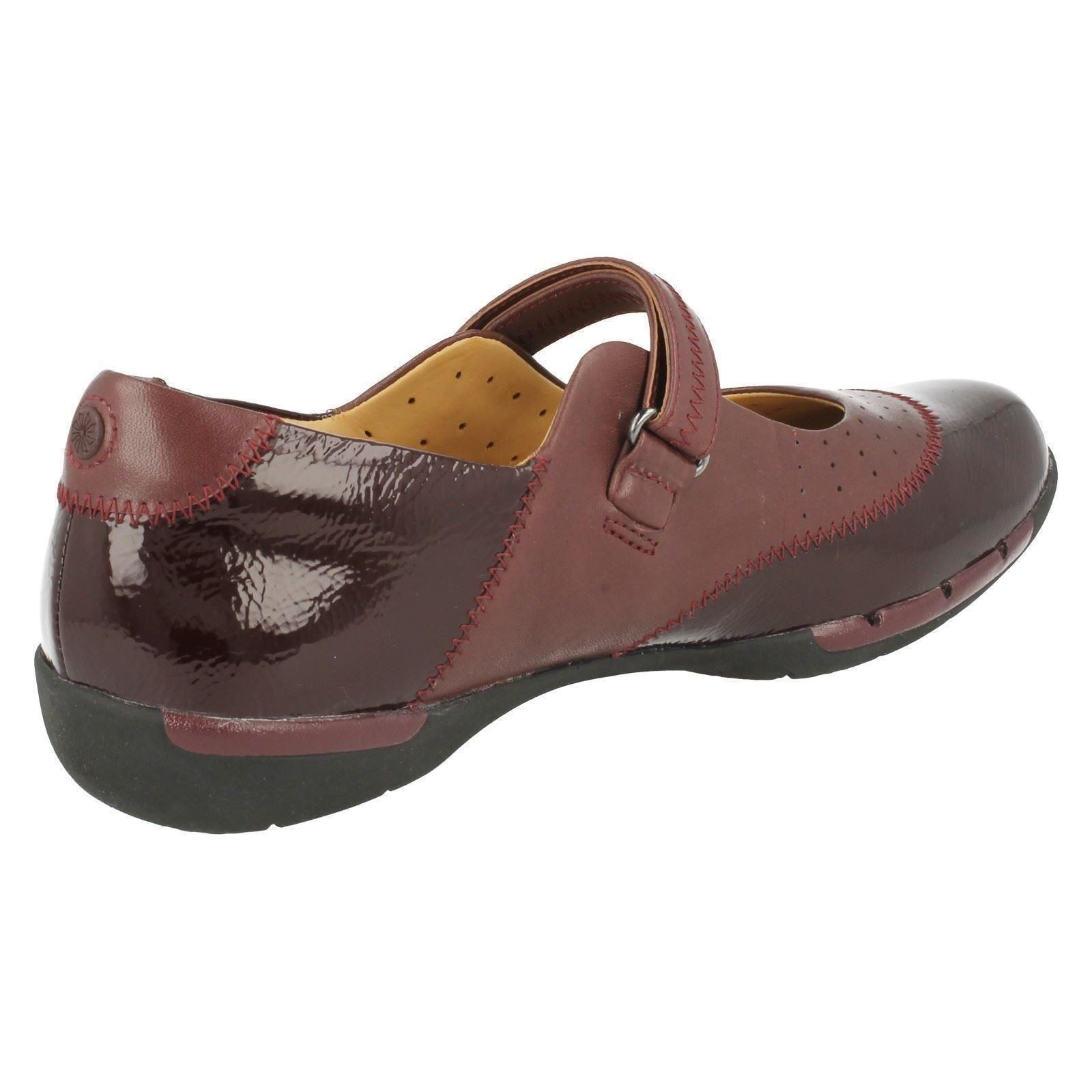 Burgundy Unstructured Hazel Casual Un púrpura Clarks Damas Shoes P8qxZxw