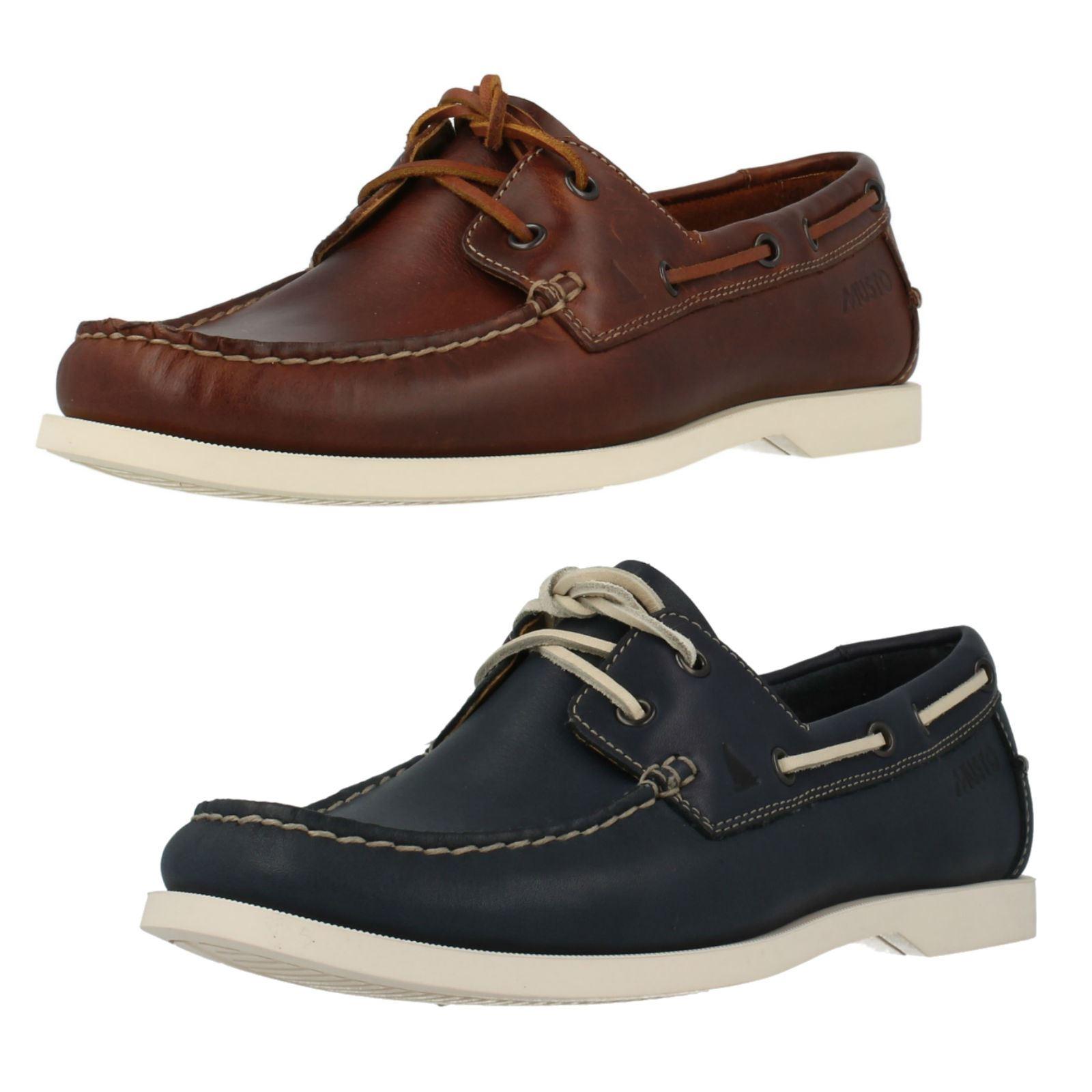 Detalles de Hombre Clarks Informal Cubierta Zapatos Estilo Nautic Bay