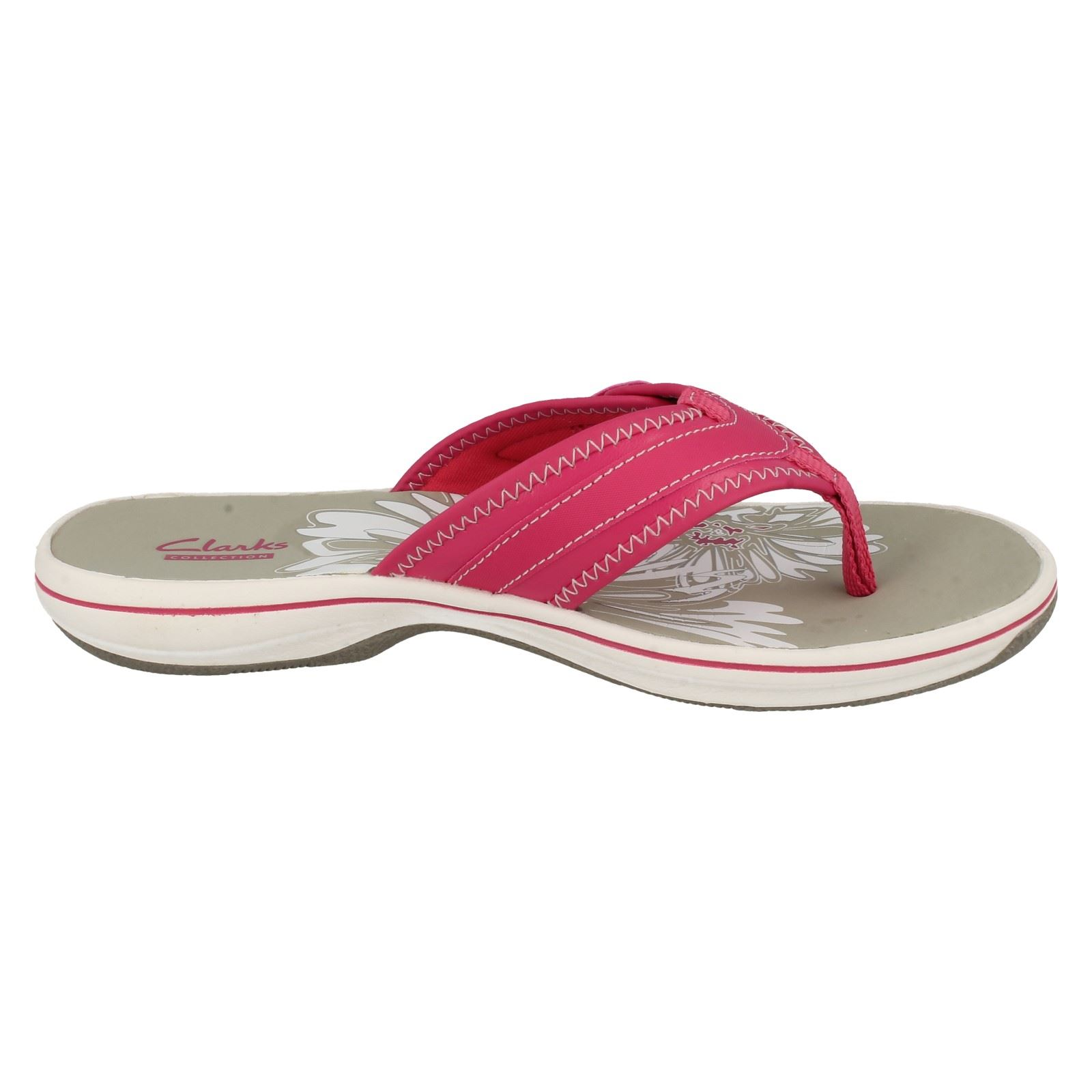 a6970afc5fca Ladies-Clarks-Brinkley-Mila-Toe-Post-Sandals thumbnail 7