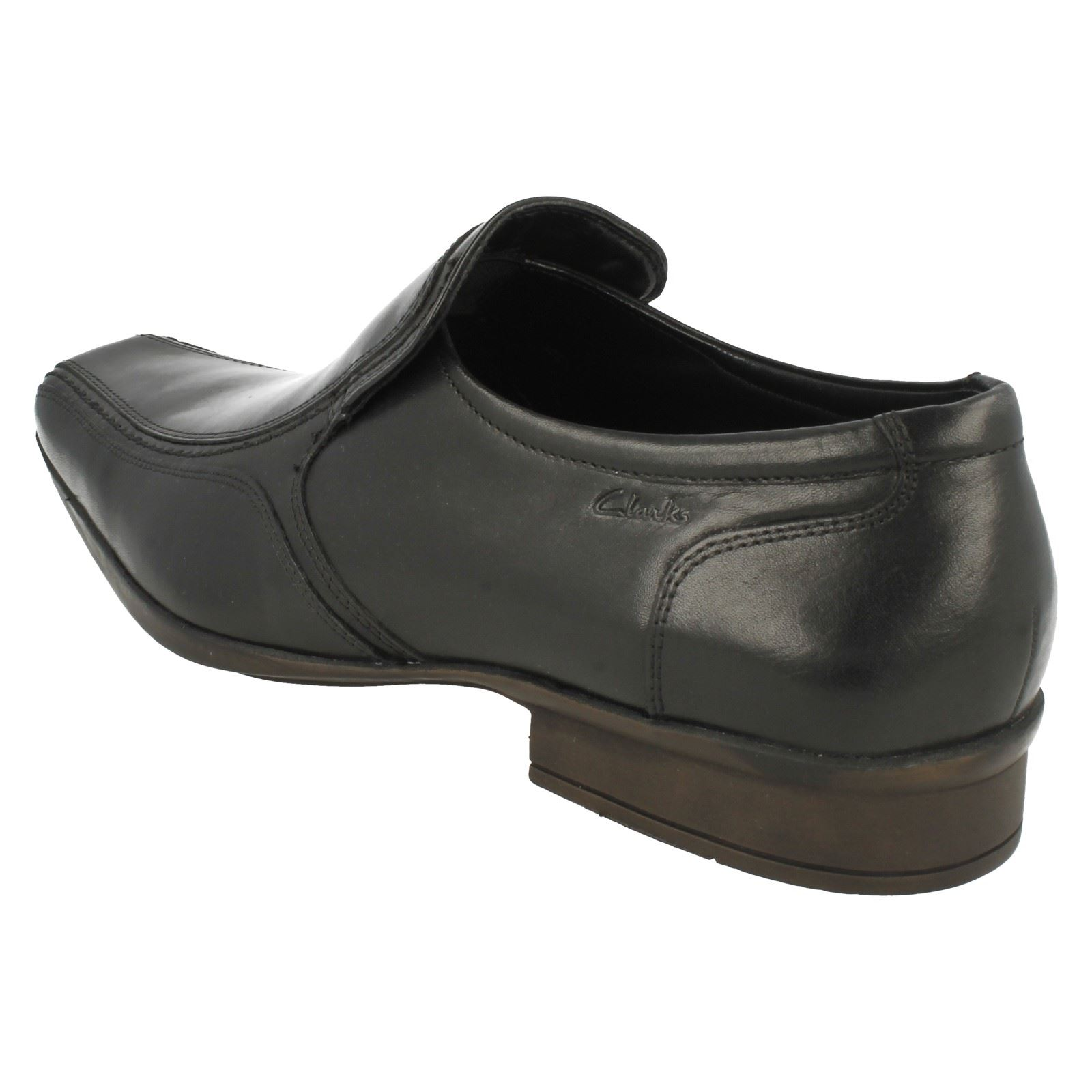 Shoes Clarks On Mens Affix Step Formal Slip Nero wqHq4S