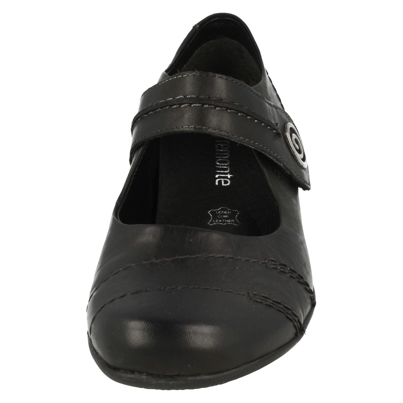 Scarpa Smart Remonte donna D7205 tacco con nera rErwq6Bx