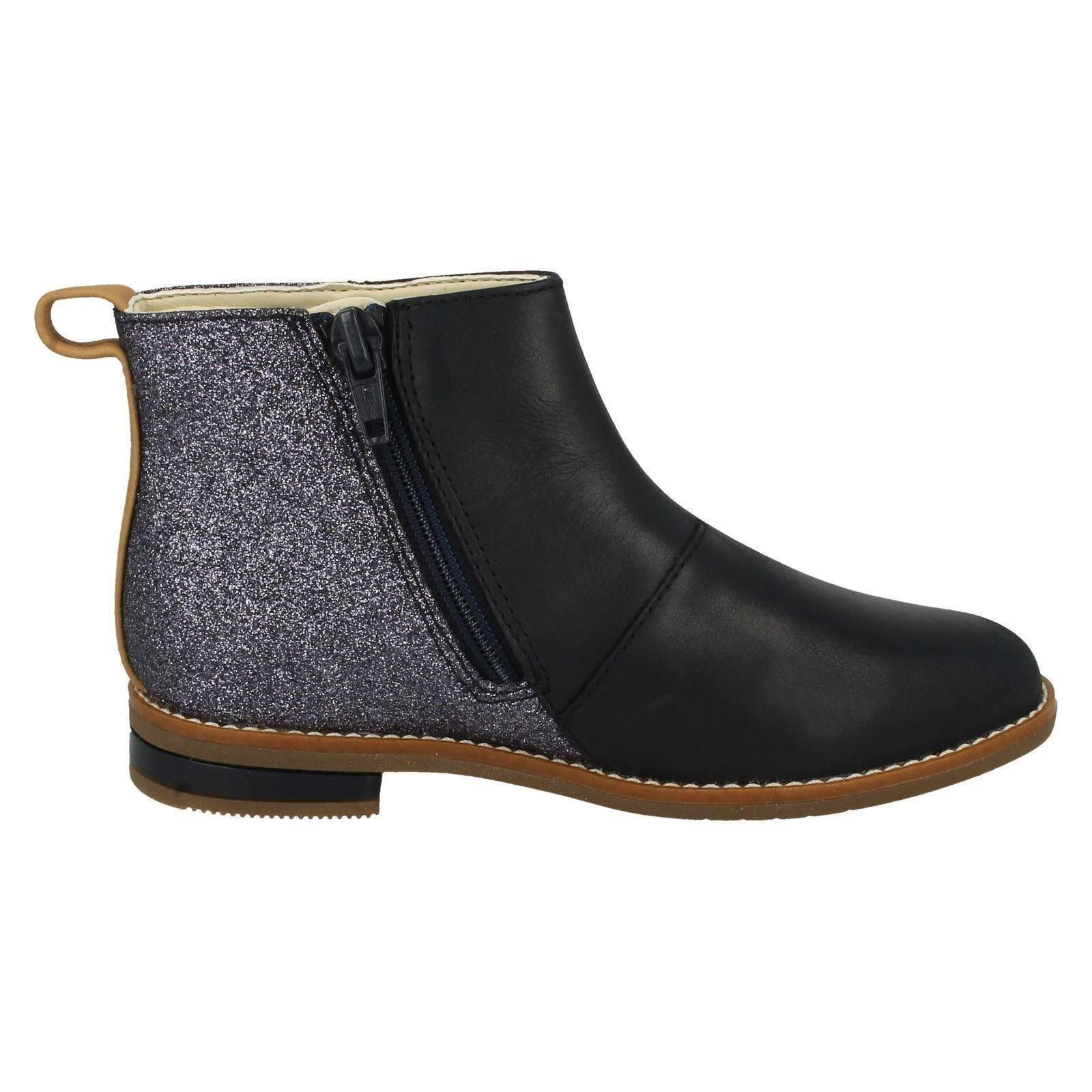 Clarks Girls Smart Ankle Boots /'Drew Fun/'