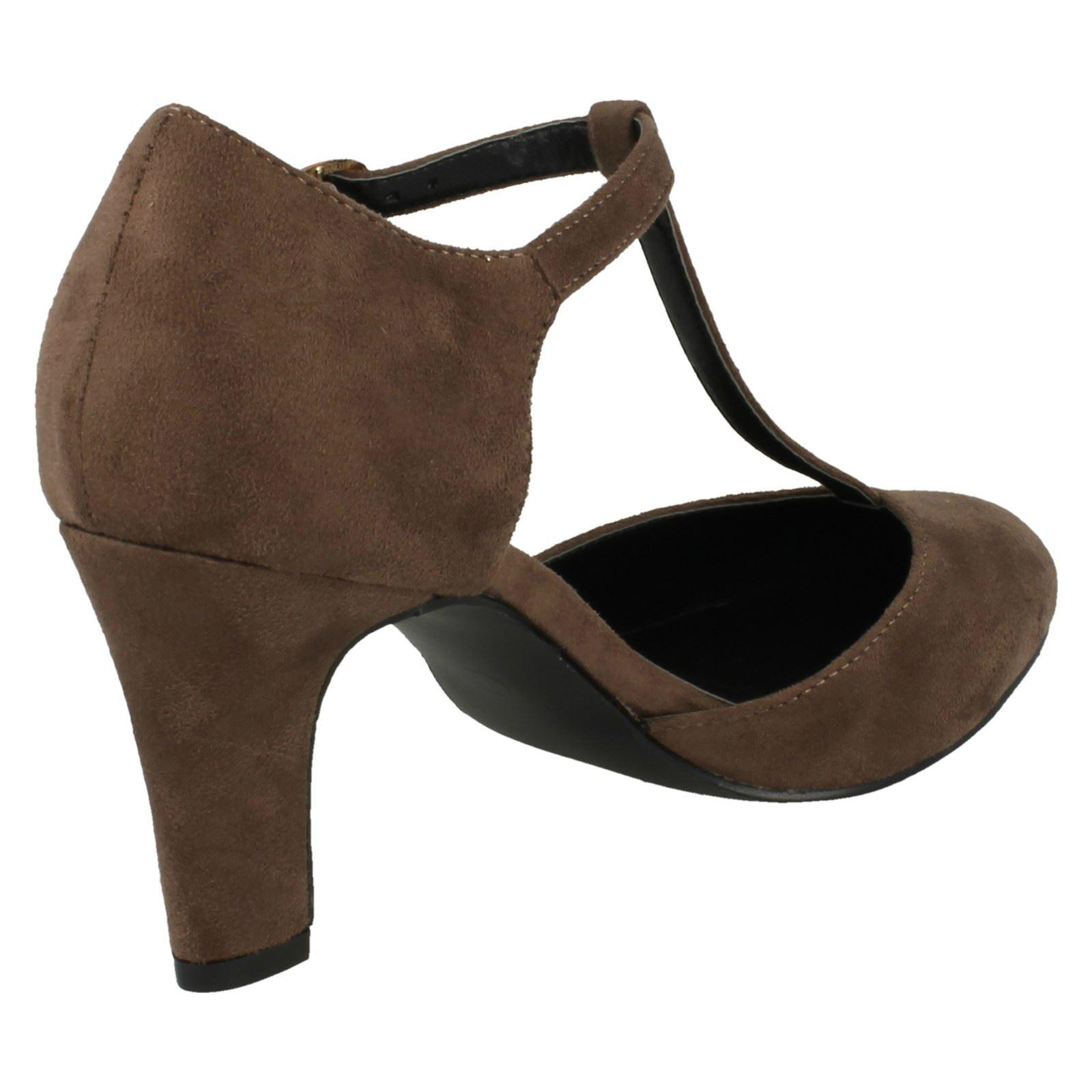 Ladies-Anne-Michelle-T-Bar-Smart-Shoes thumbnail 42