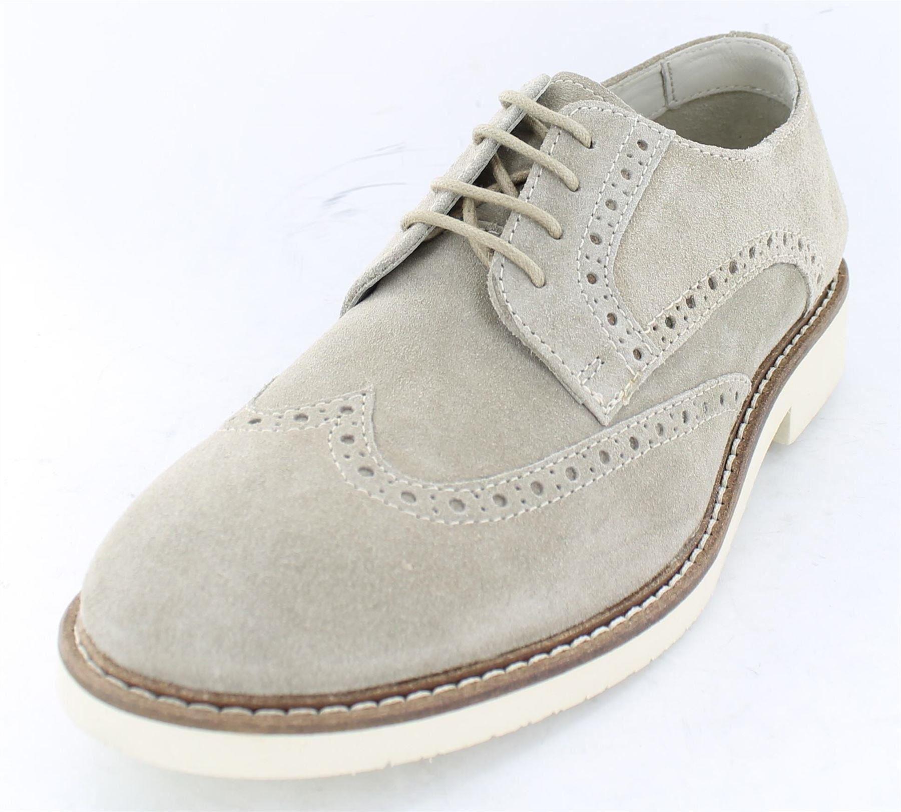 Mens Suedette Lace Up Shoes 274