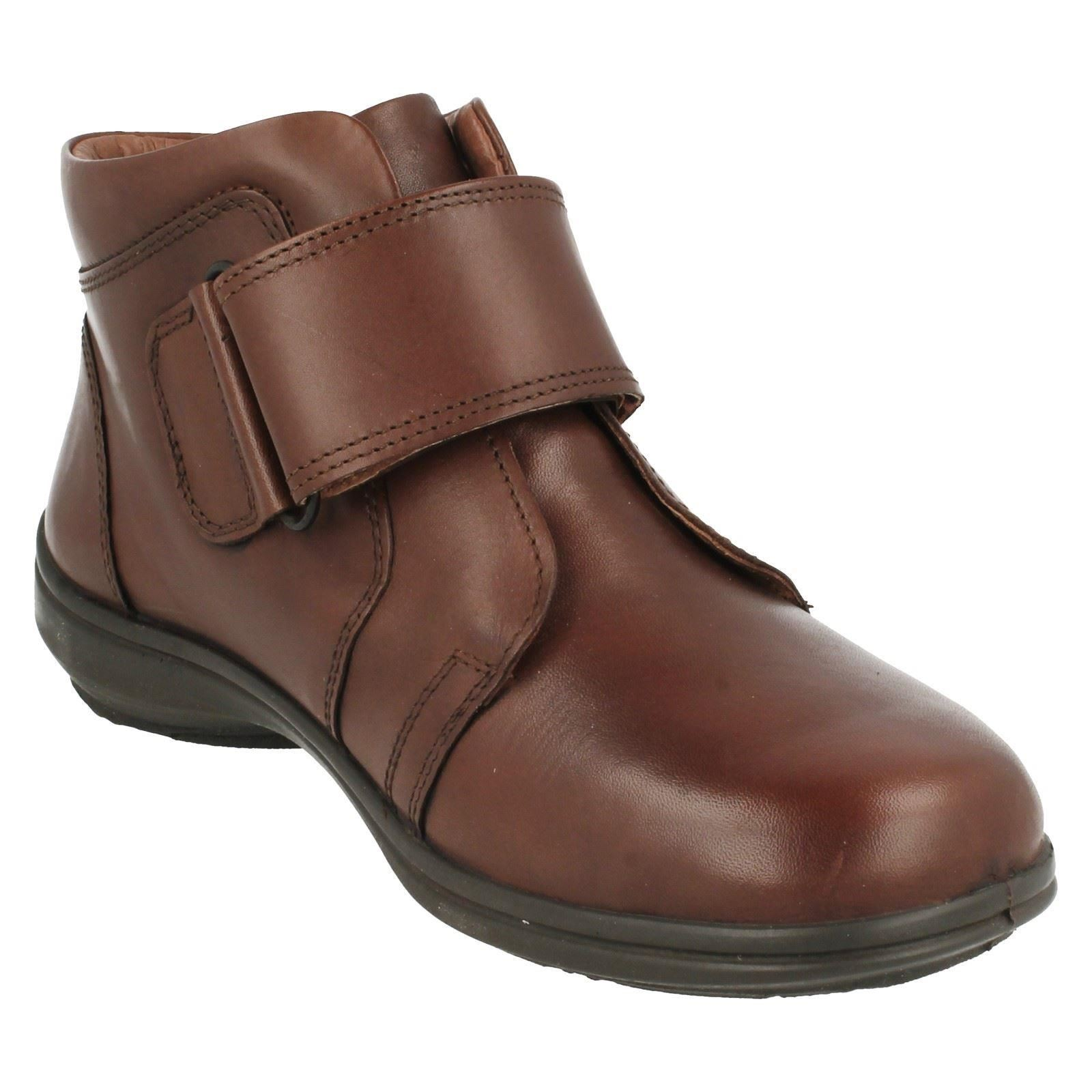 B Easy Ladies Ankle Boots Path Brown Zf6PAz