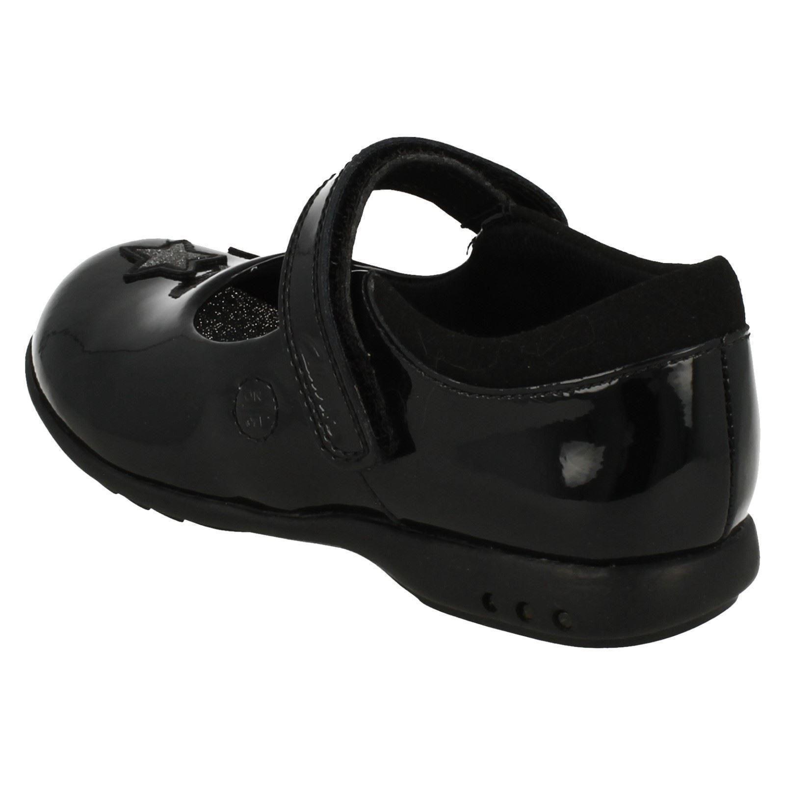 Chicas Clarks Zapatos De Escuela Con Luces Trixi Bee