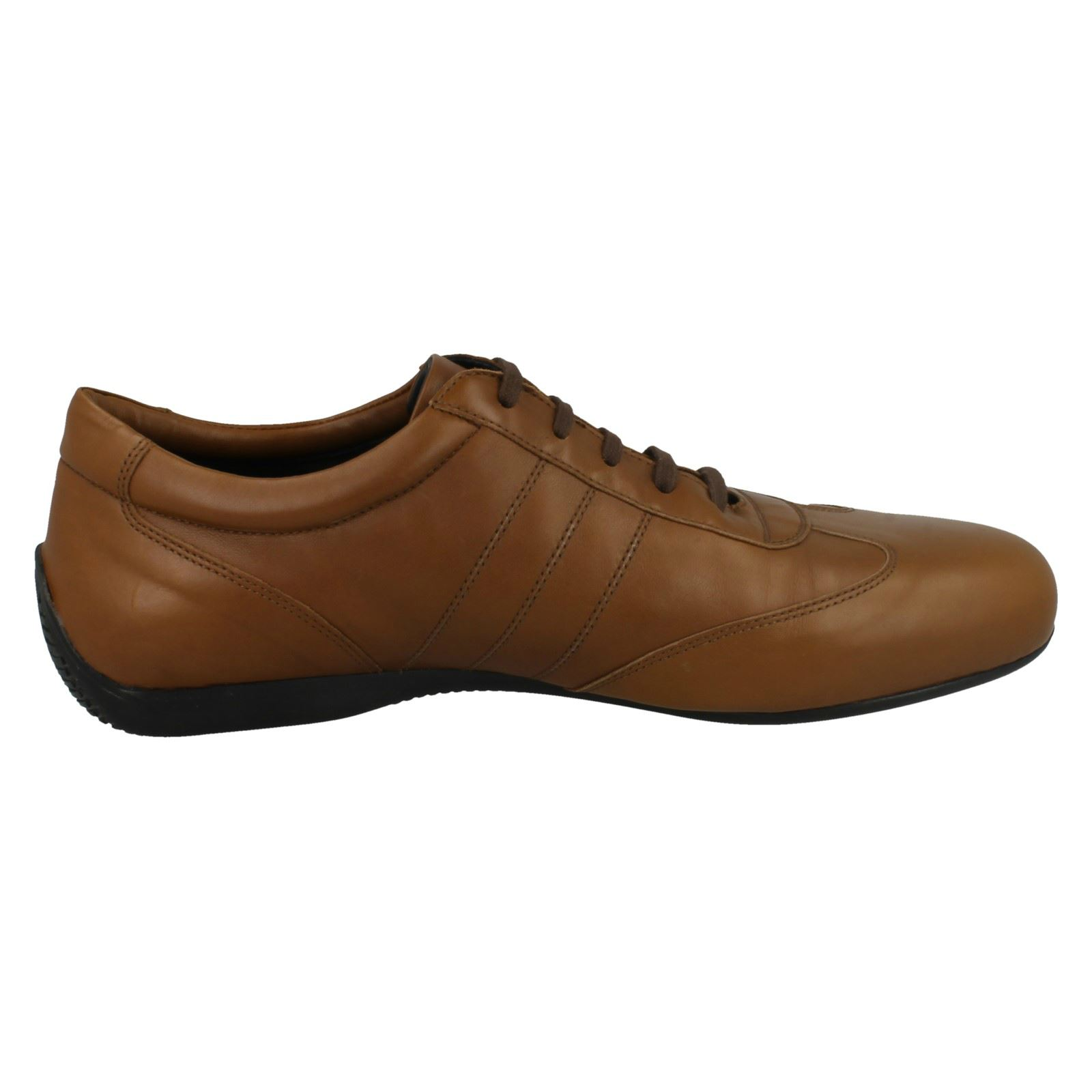 Uomo Joseph Cheaney Casual Lace-Up Schuhes Rossi a47585