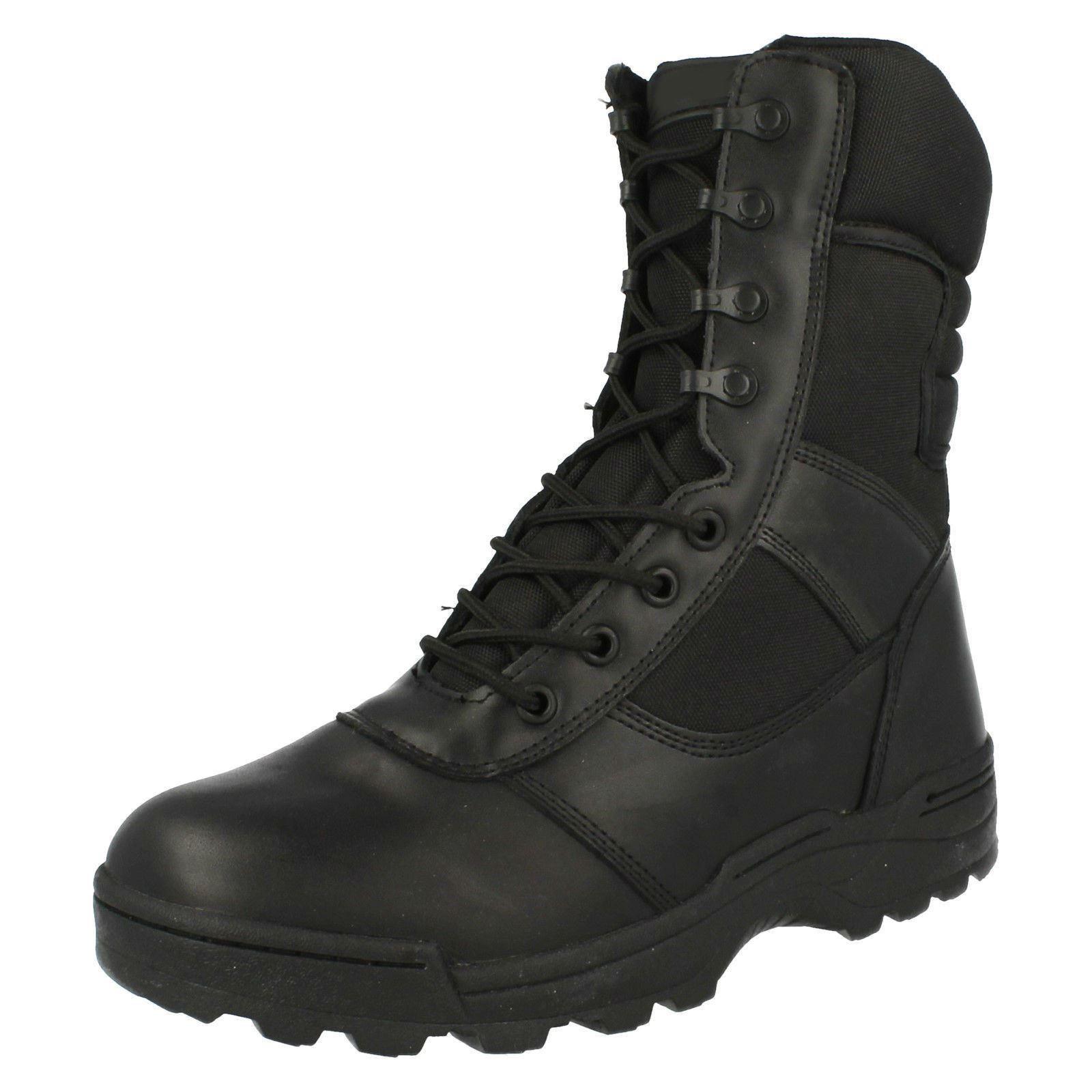 Para Hombre Botas Con Cremallera Ridge dura-Max 4105