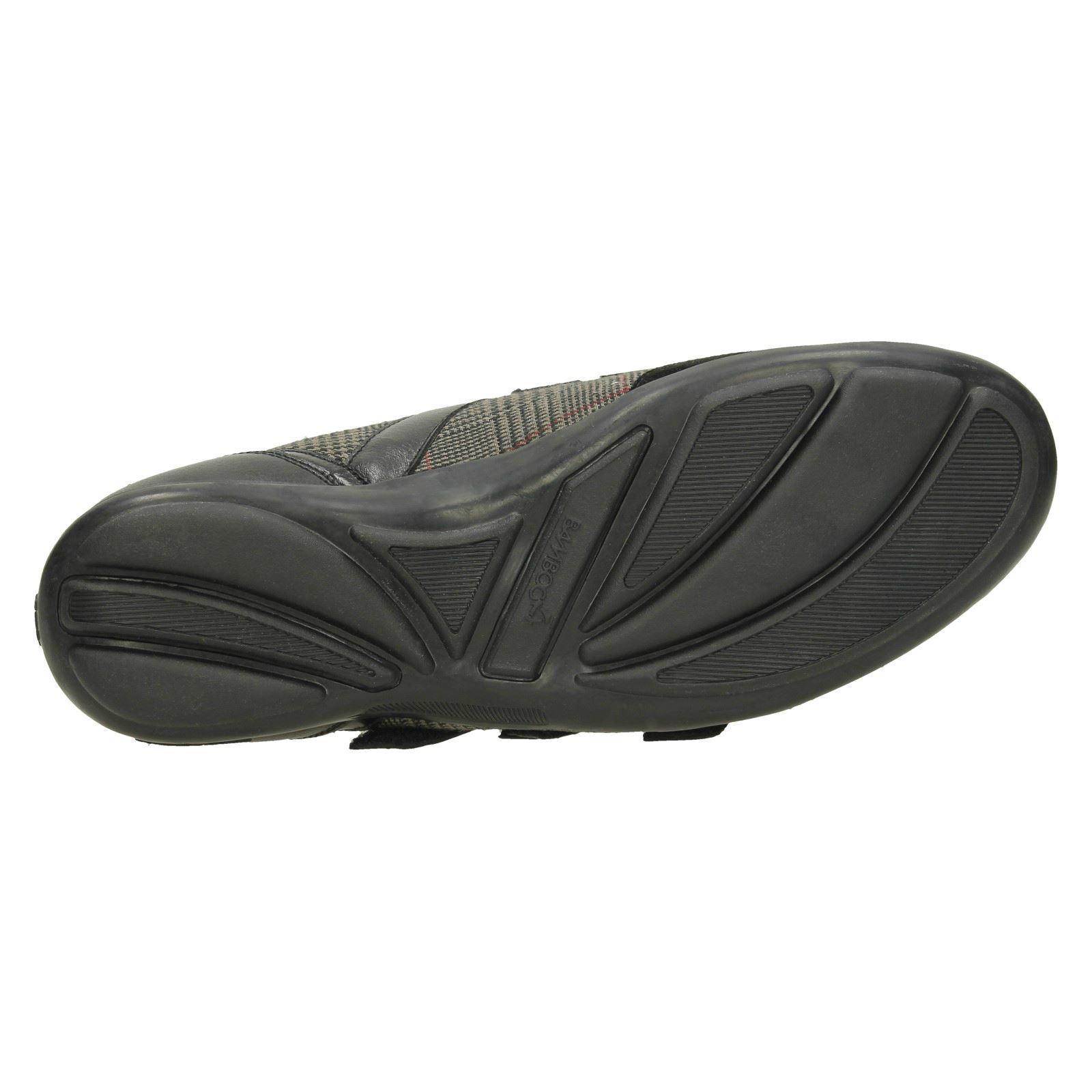 Señoras falda escocesa Inteligente Informal Zapato De Bambú