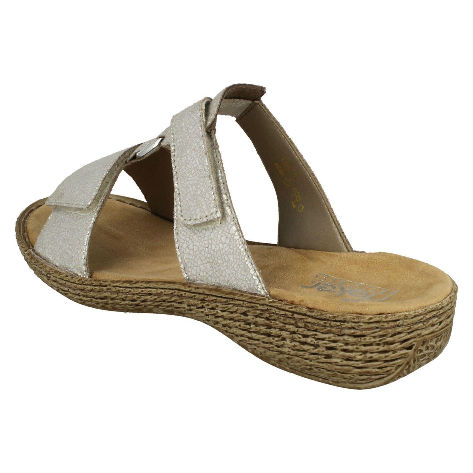 Ladies Rieker Slip On Sandals /'658P9/'