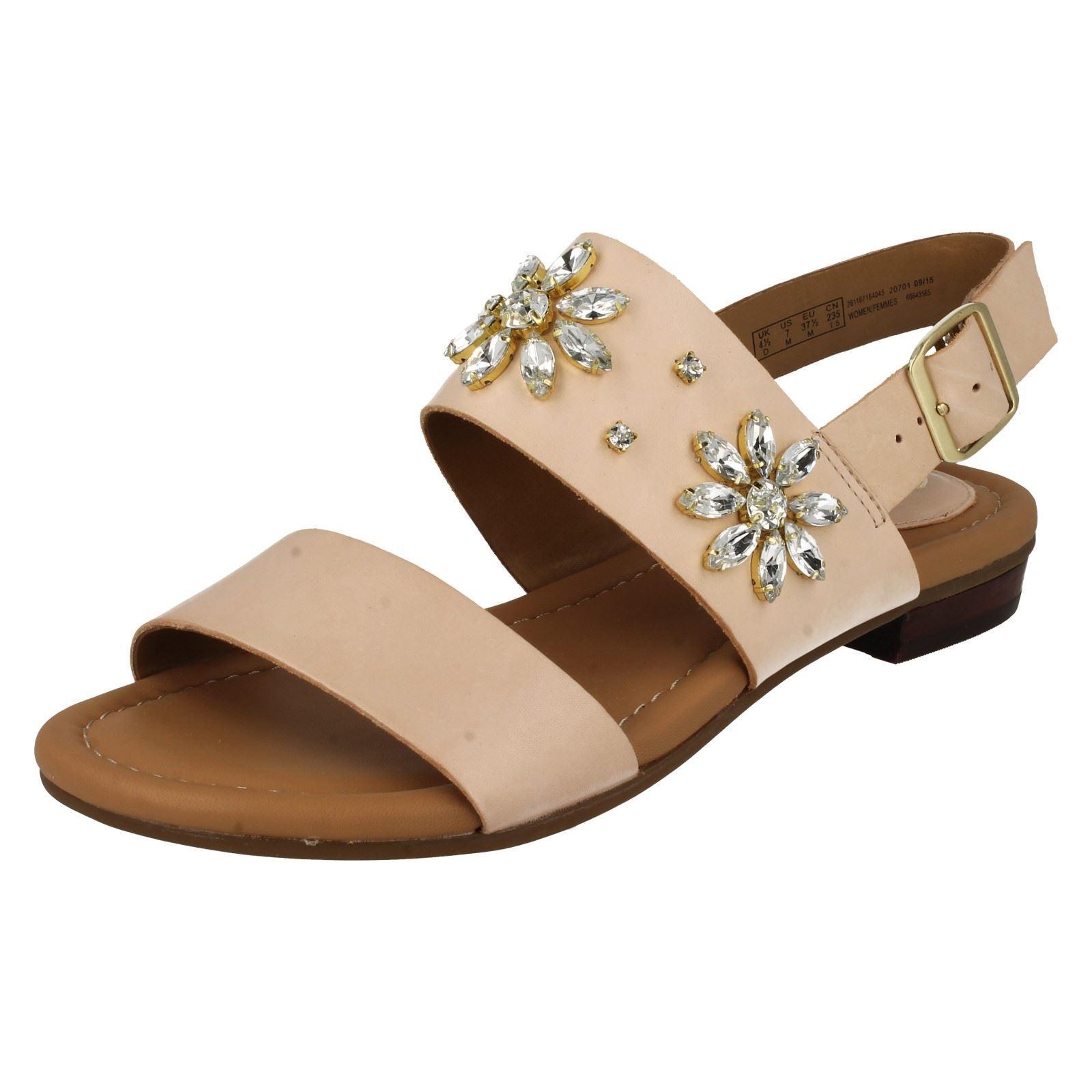 dcb0b72dfe68 Details about Ladies Clarks Viveca Melrose Bead Design Sandals