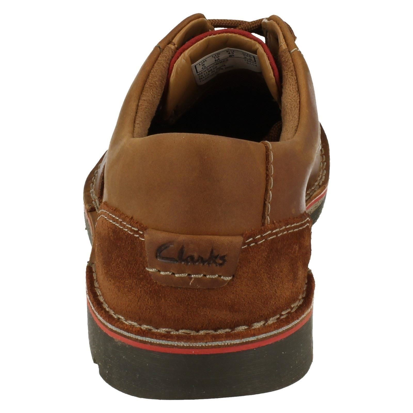 ' Uomo Schuhes Clarks' Casual Lace Up Schuhes Uomo Edgewick Plain 53ec97