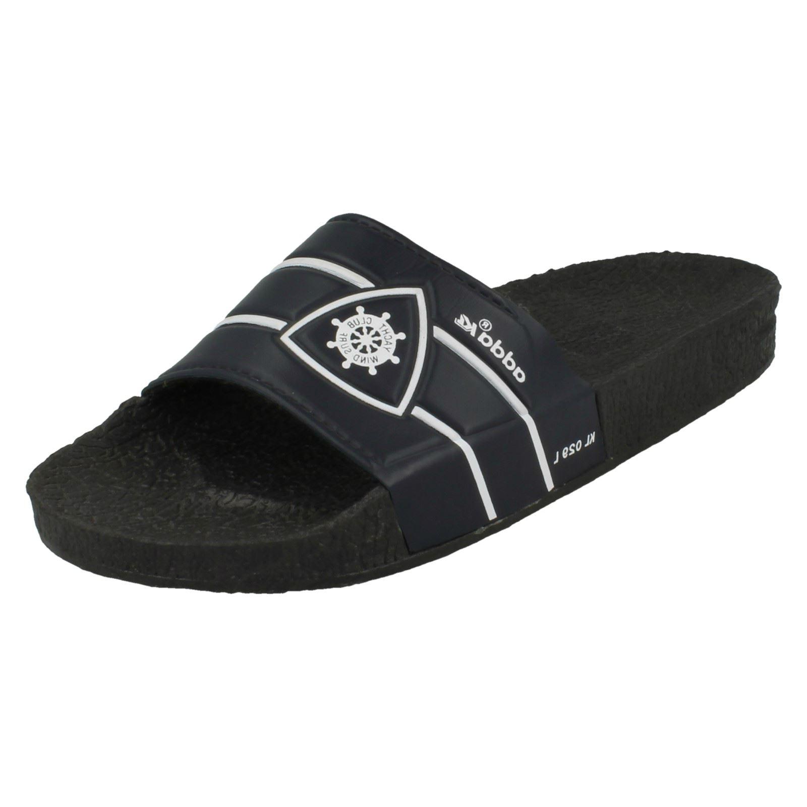 Mens Adda Casual Slip On Flat Mule KL029