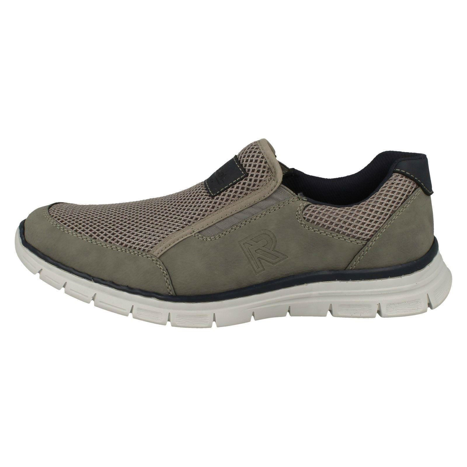 Rieker Uomo Rieker  Stylish Slip-On Schuhes B4873 b26284