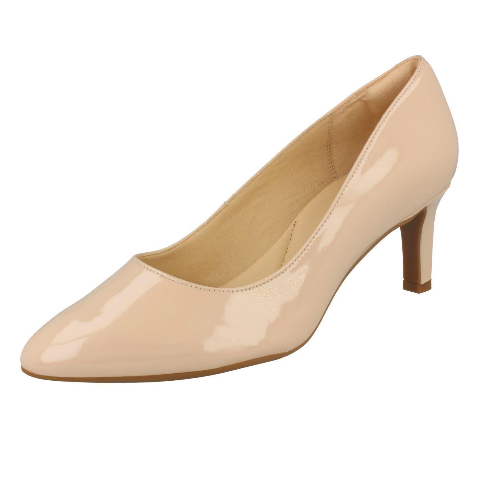 Textura ' Cala Zapatos Con Salón Mujer Clarks Rosa De OqEwnY6