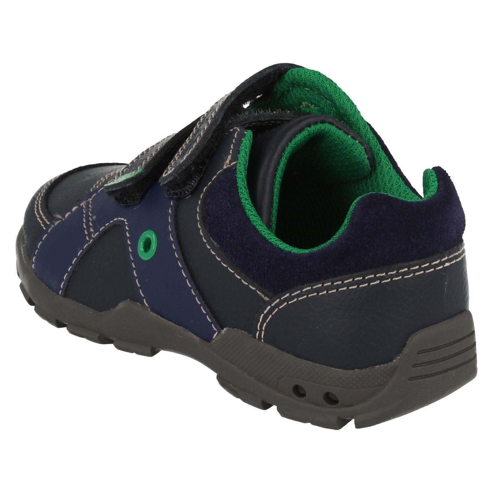 Flash First Navy Shoes blu Clarks Pop Boys q5wt4fZ
