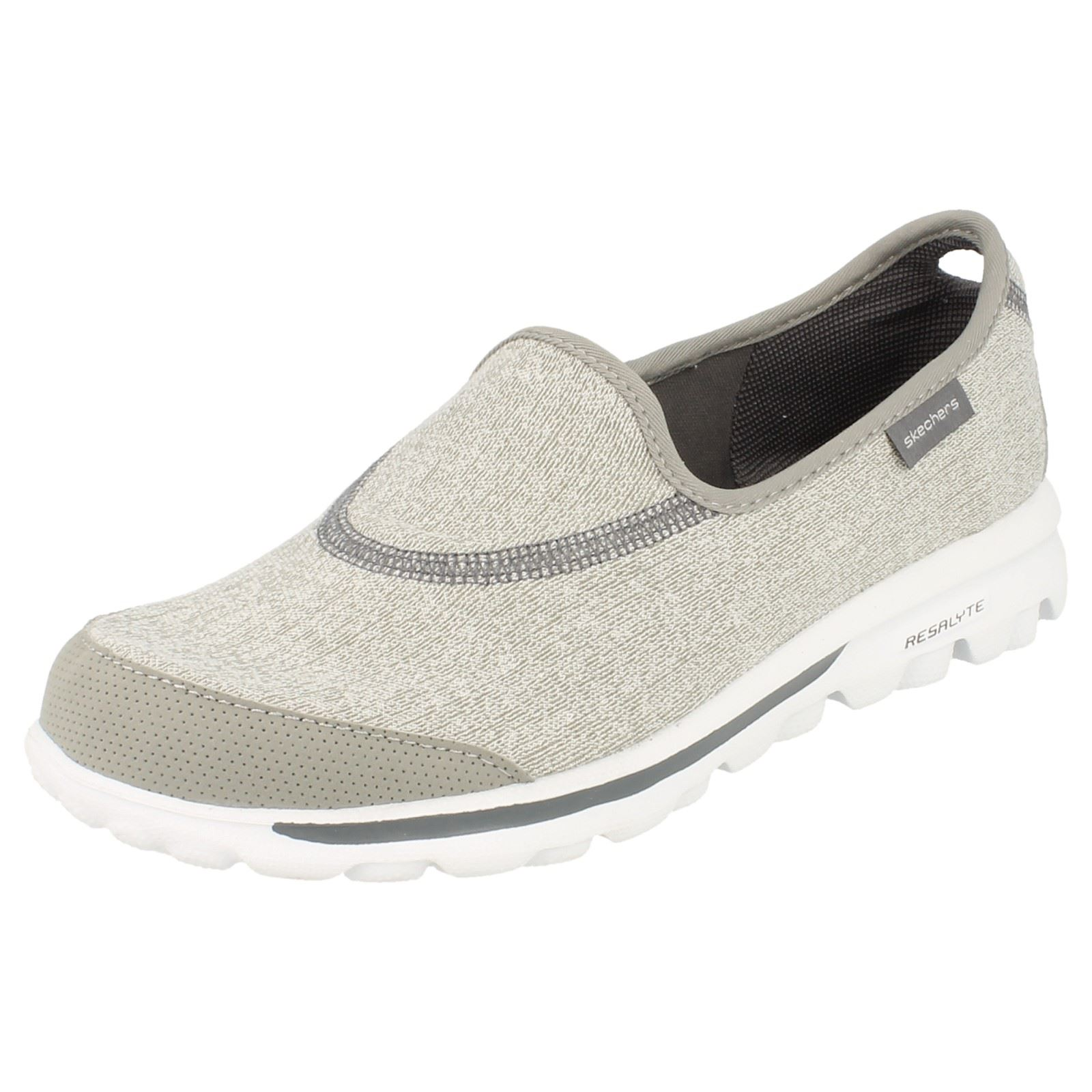 Zapatos beige Skechers Go Walk para mujer YwdVEbw