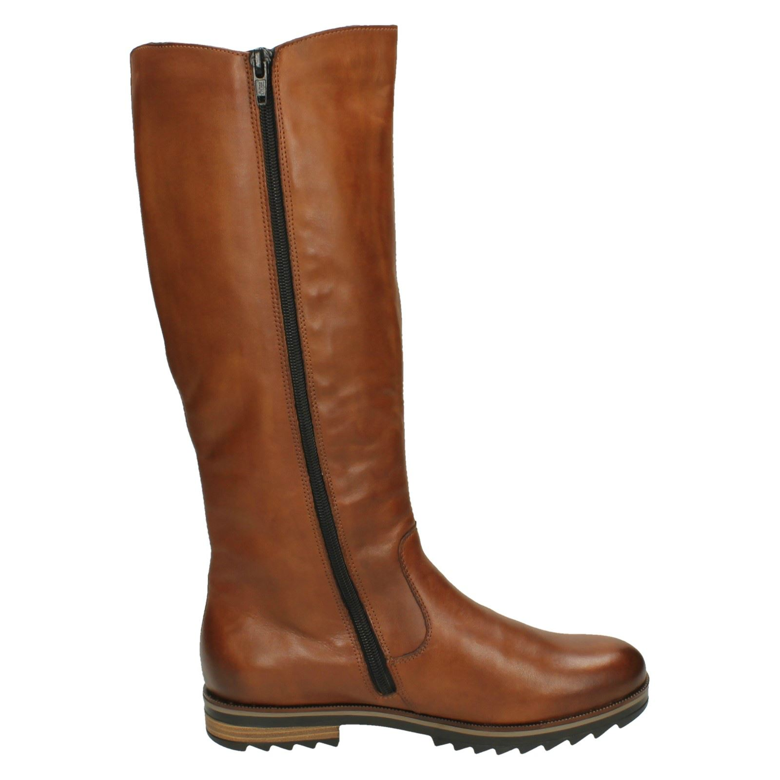Length Ladies Brown Casual Boots Remonte R2277 Knee Zip wIfIrq
