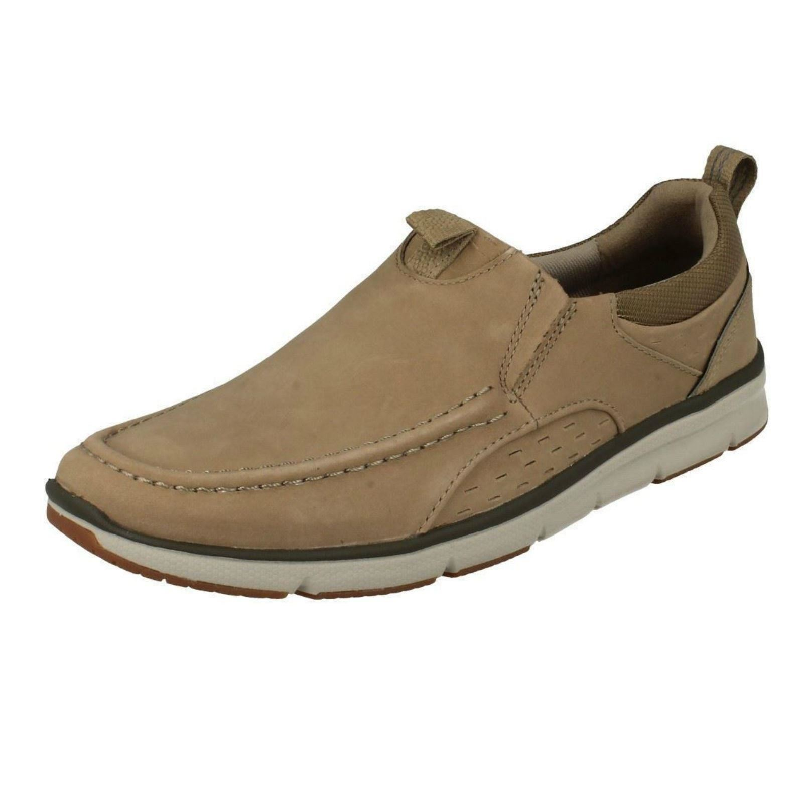 Herren Clarks Moccasin Moccasin Moccasin Style Slip On Schuhes Orson Row 429831