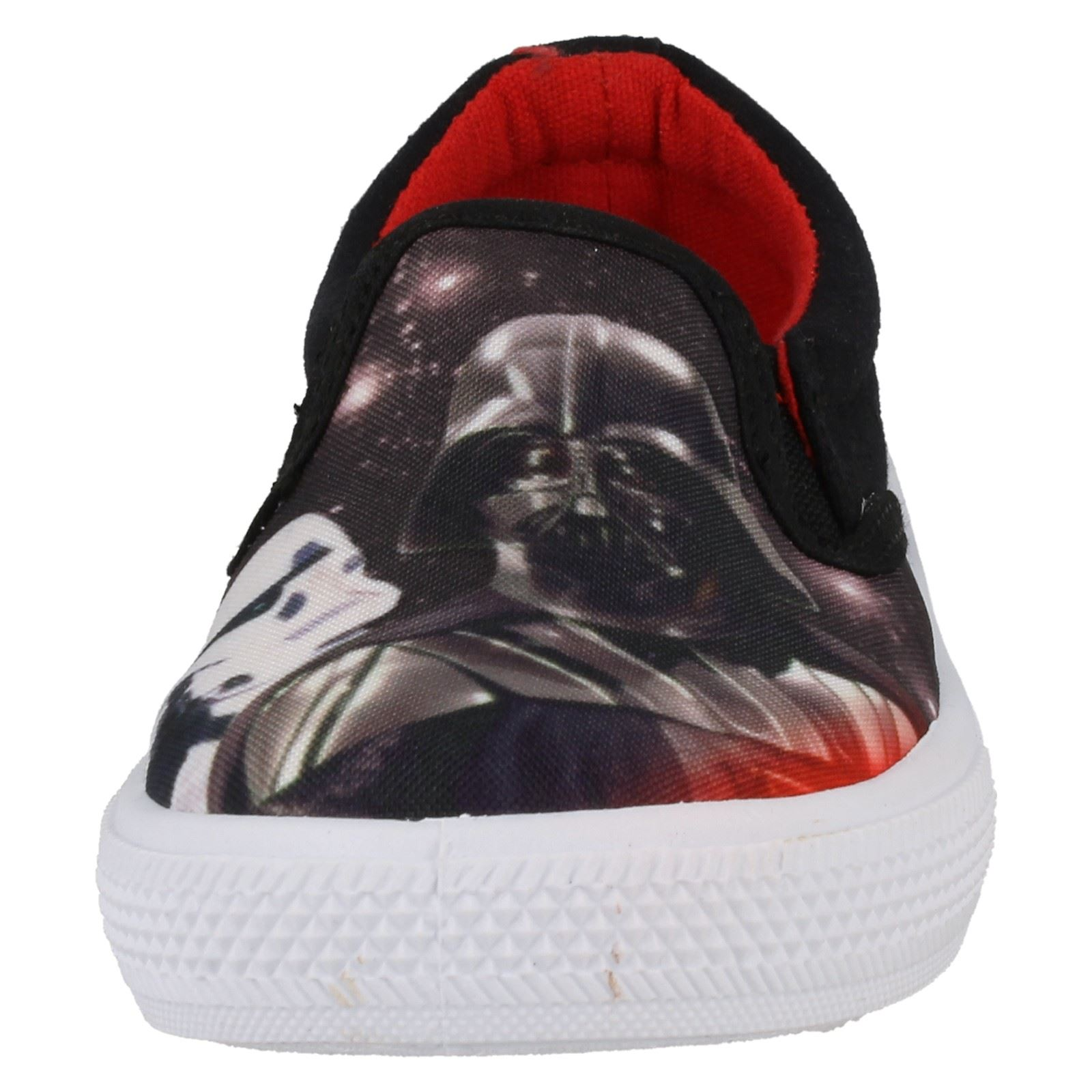 Boys Star Wars Slip On Canvas Shoes /'Fairview/'
