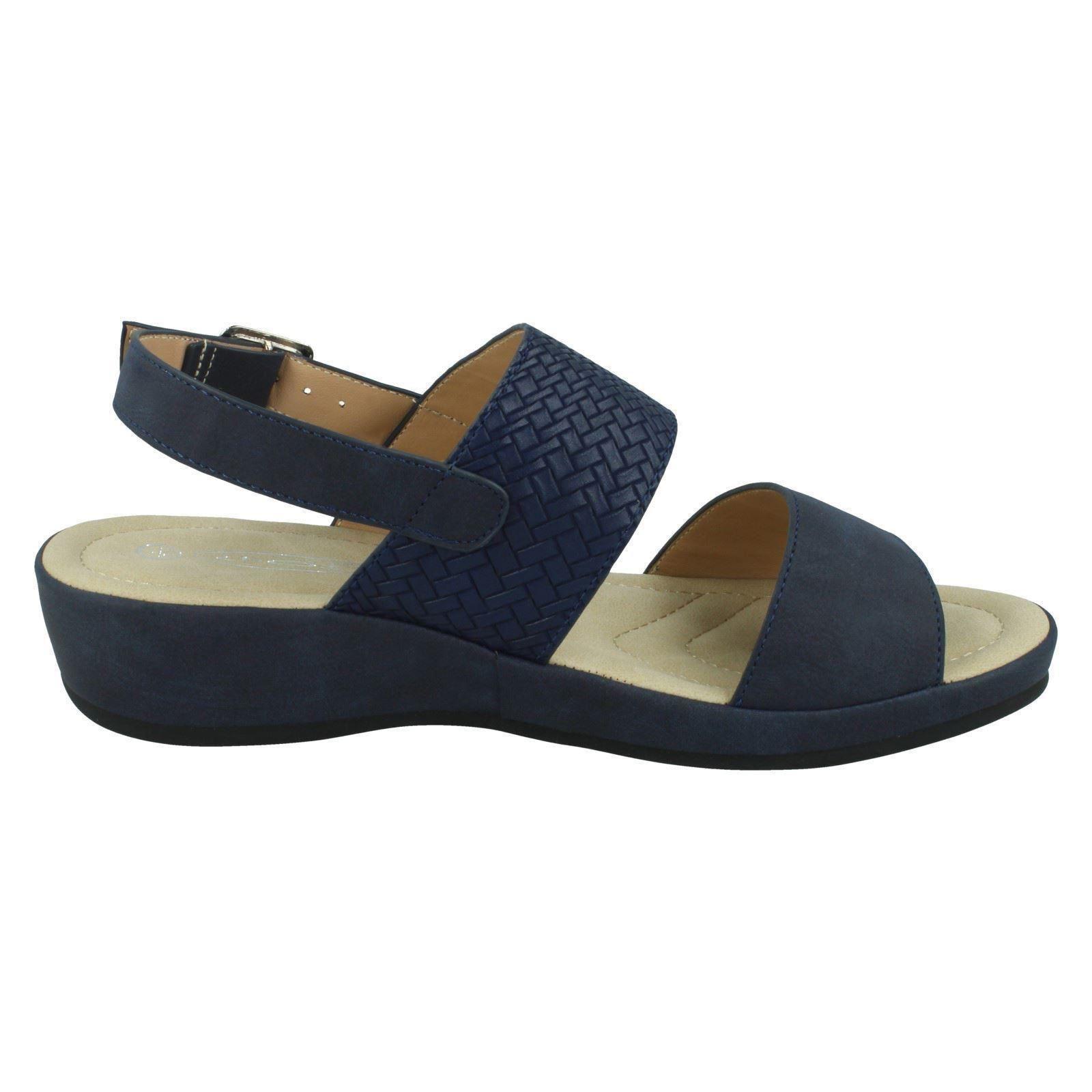 Ladies Spot On Sandals