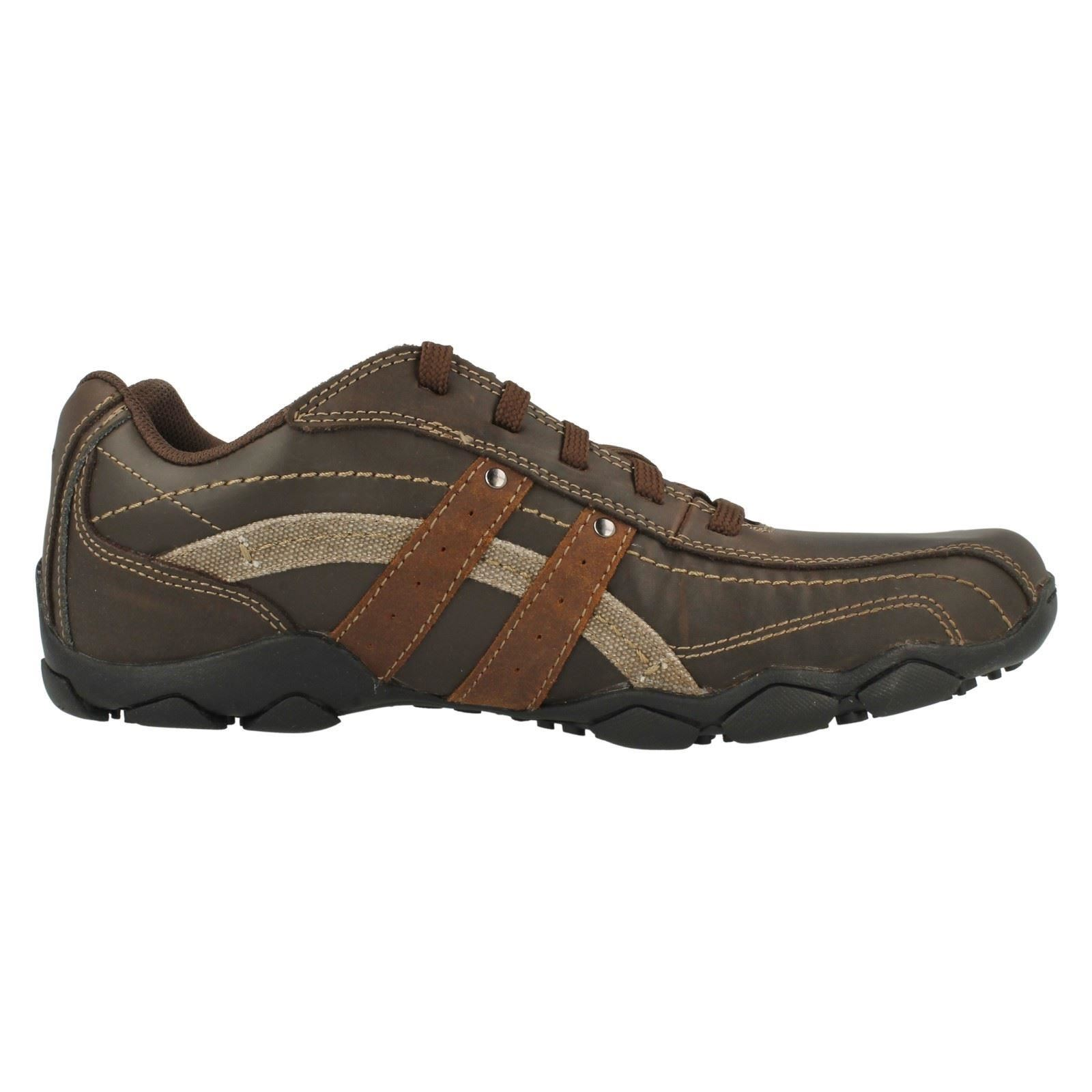 mens skechers casual shoe 63385