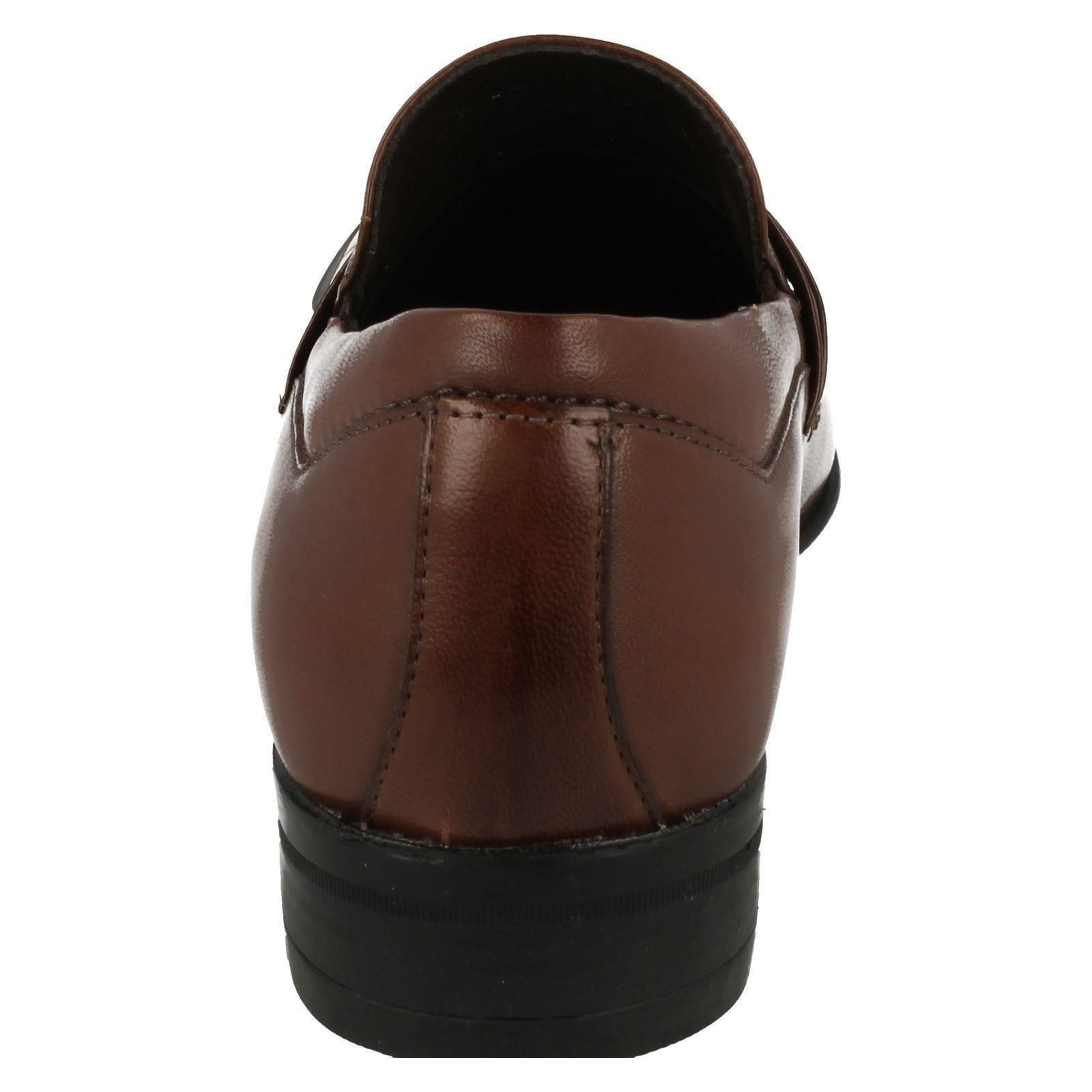 Mens Goiania Dress Anatomic On Slip Shoes Chocolate marrone r1wArq