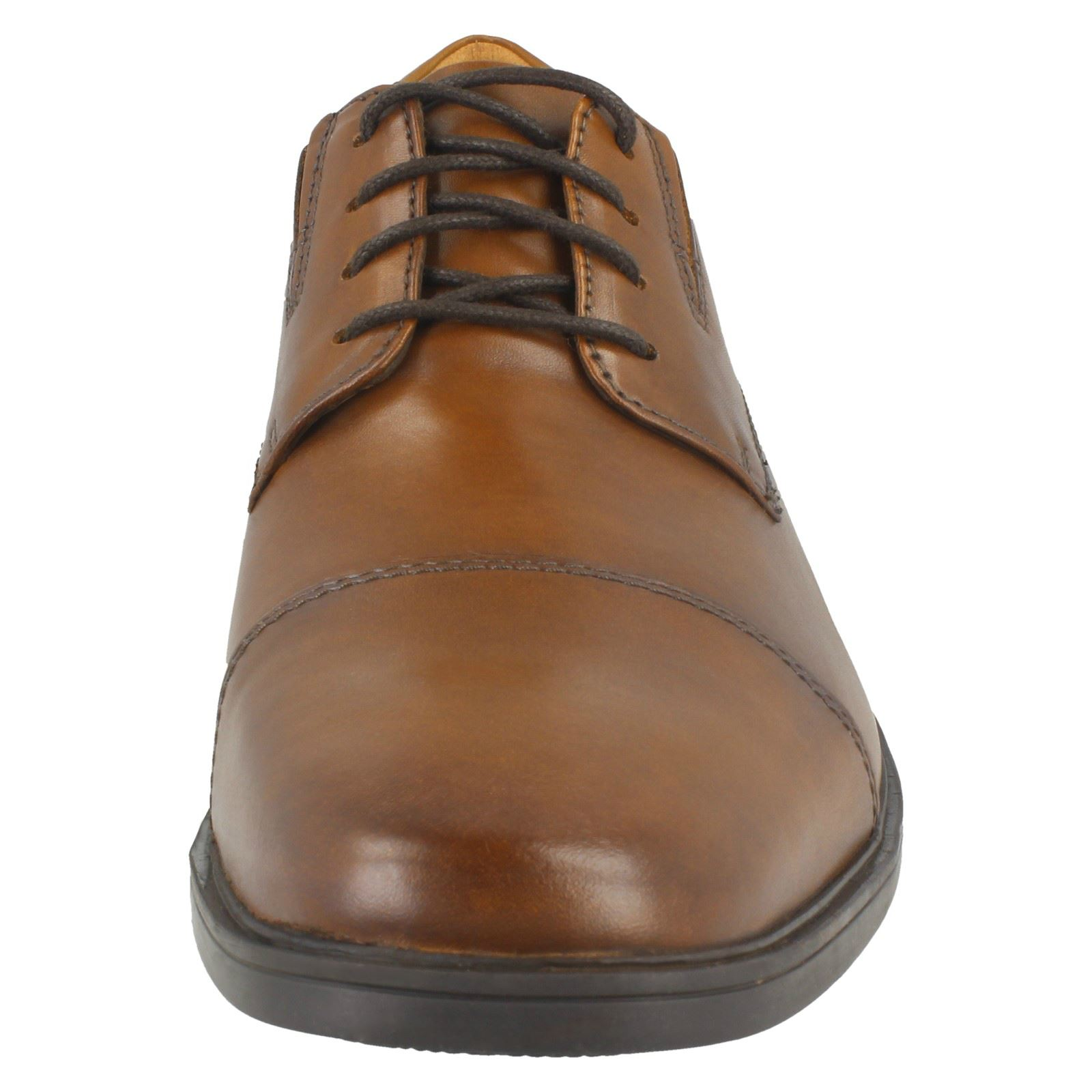 Mens-Clarks-Formal-Lace-Up-Shoes-Tilden-Cap thumbnail 26