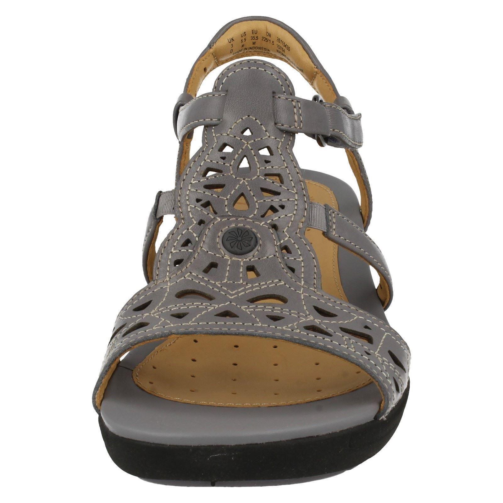 Valencia Unstructured Sandals Women's Donna Clarks PBqIZZ