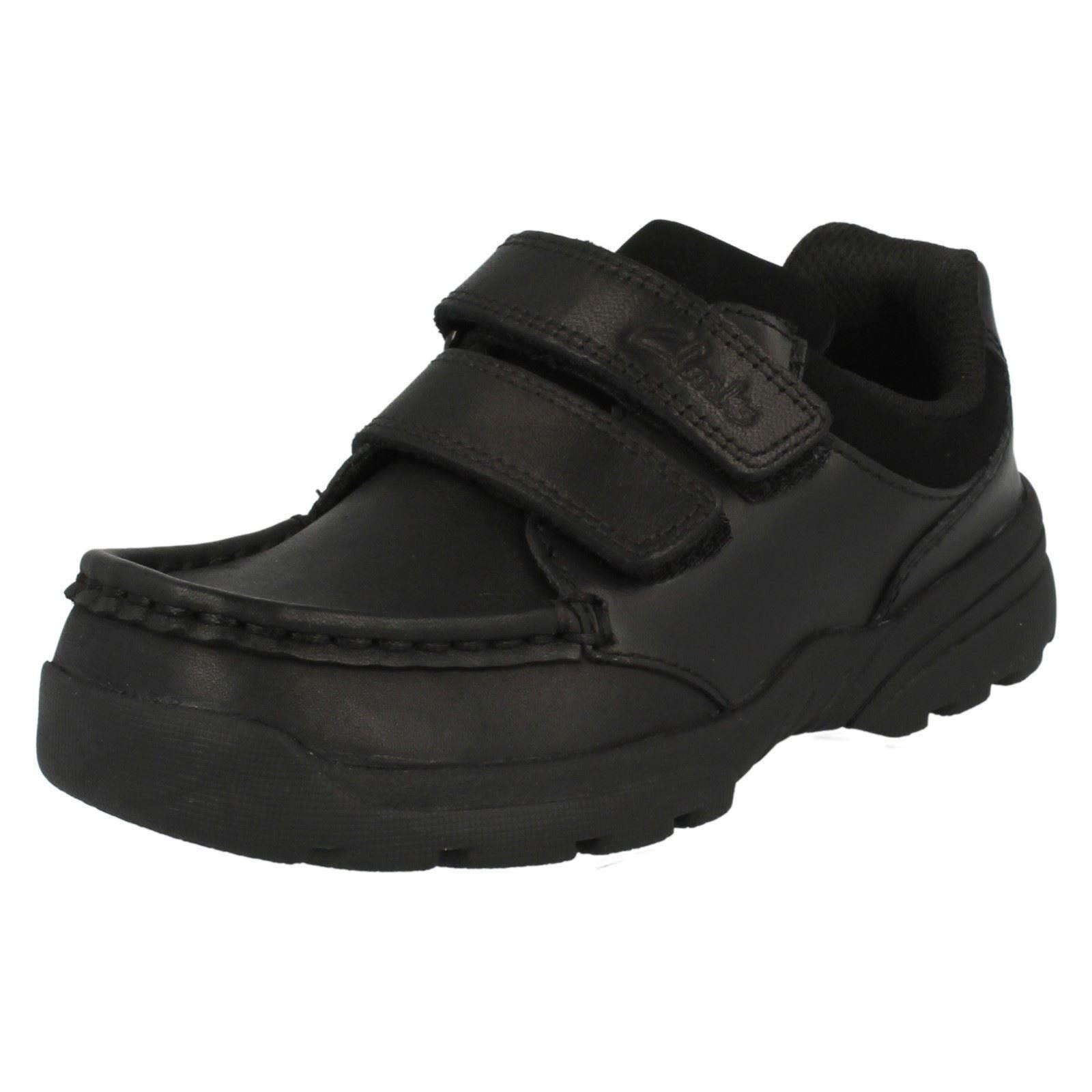 Boys-Clarks-School-Shoes-039-Zayden-Go-039