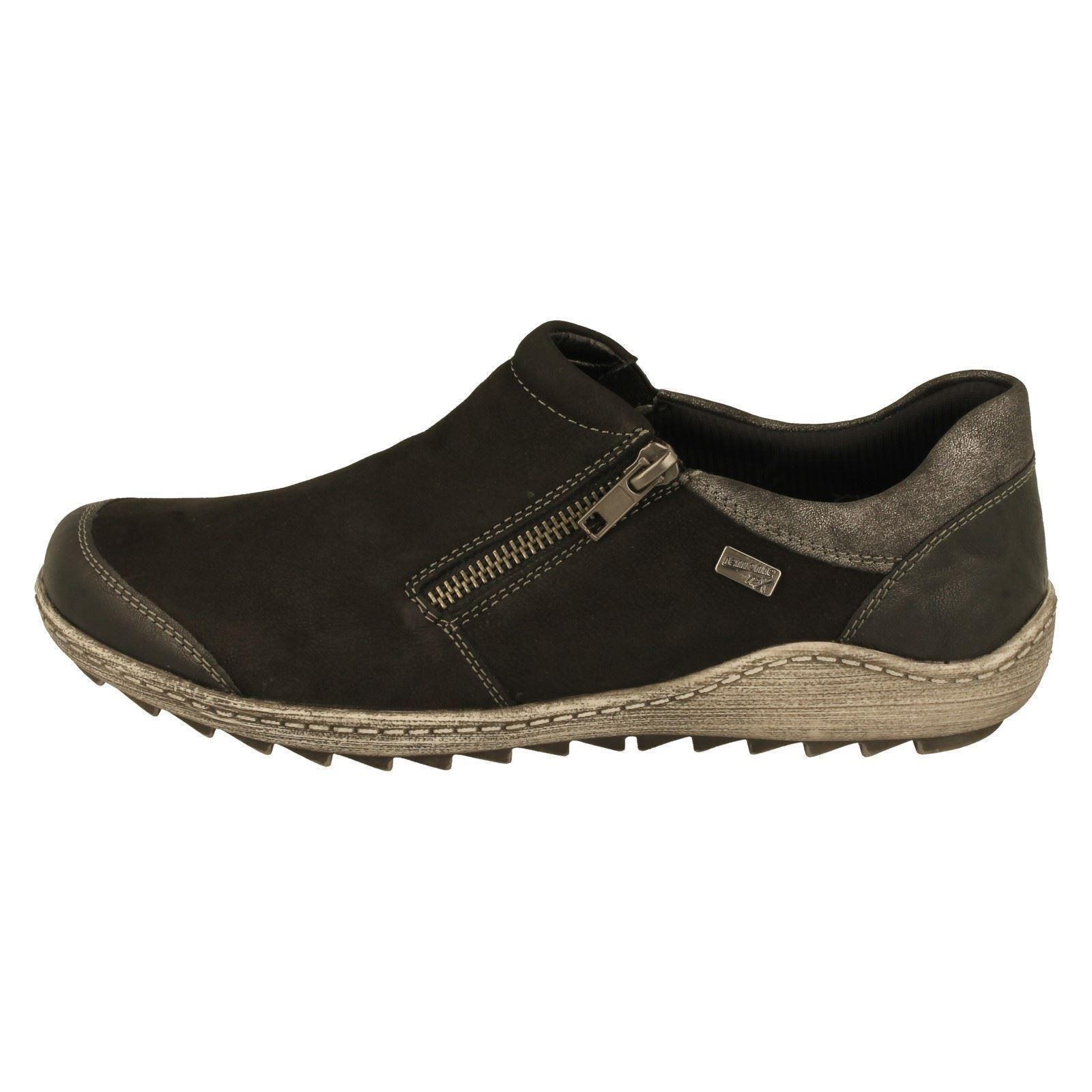 Damen Schwarz Kombination Schuhe Remonte R1403 Schwarz zZzBW0
