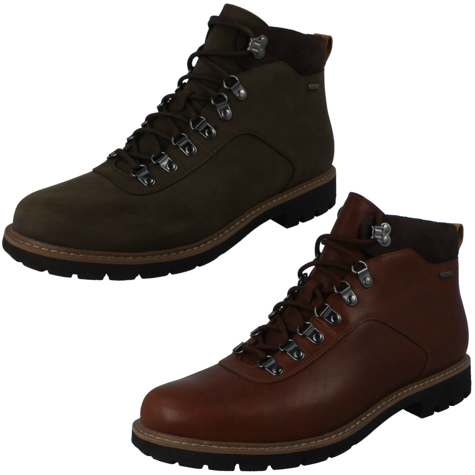 Mens Clarks Gore-Tex Ankle Boots