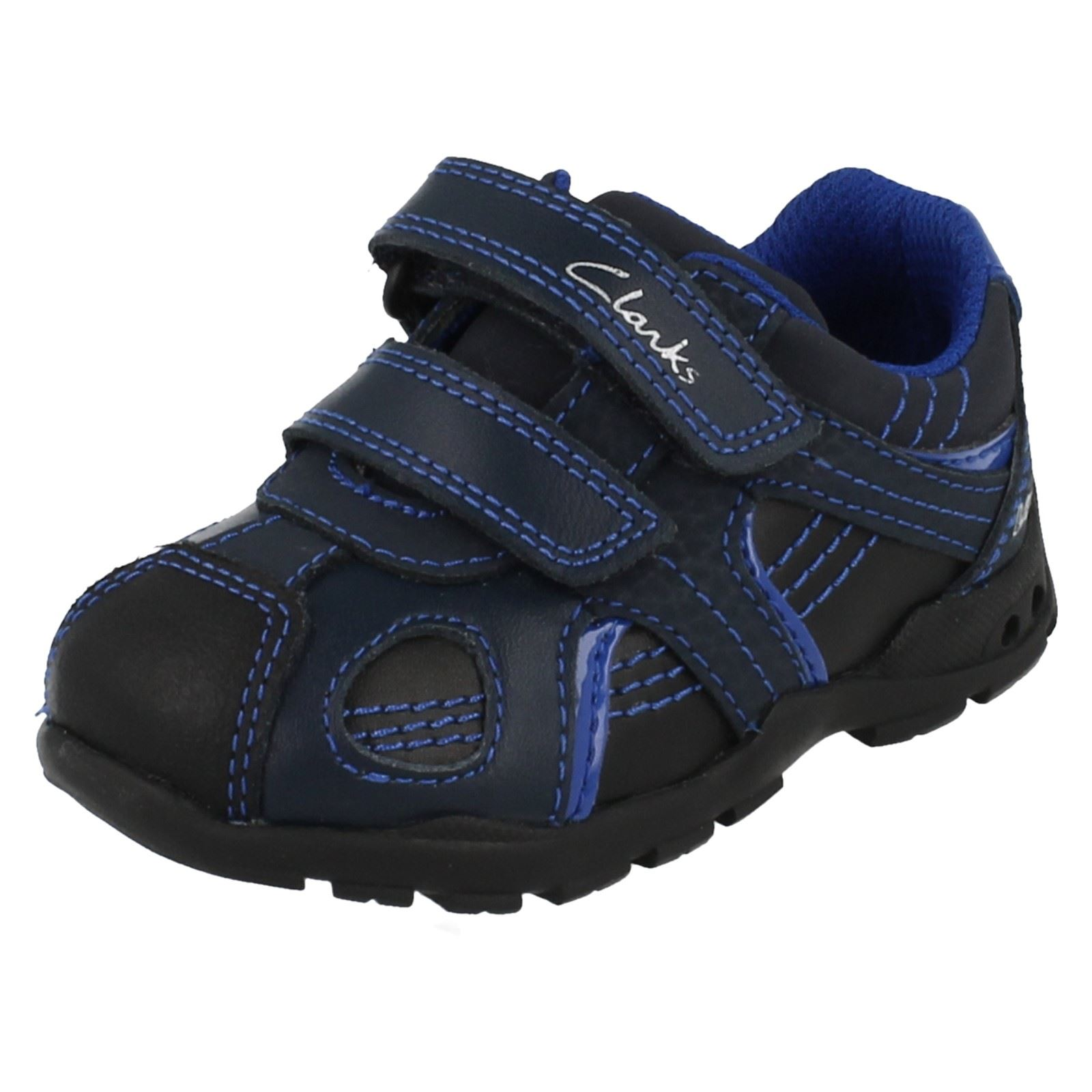 Boys Clarks Light Up Walking Shoes Brite Time