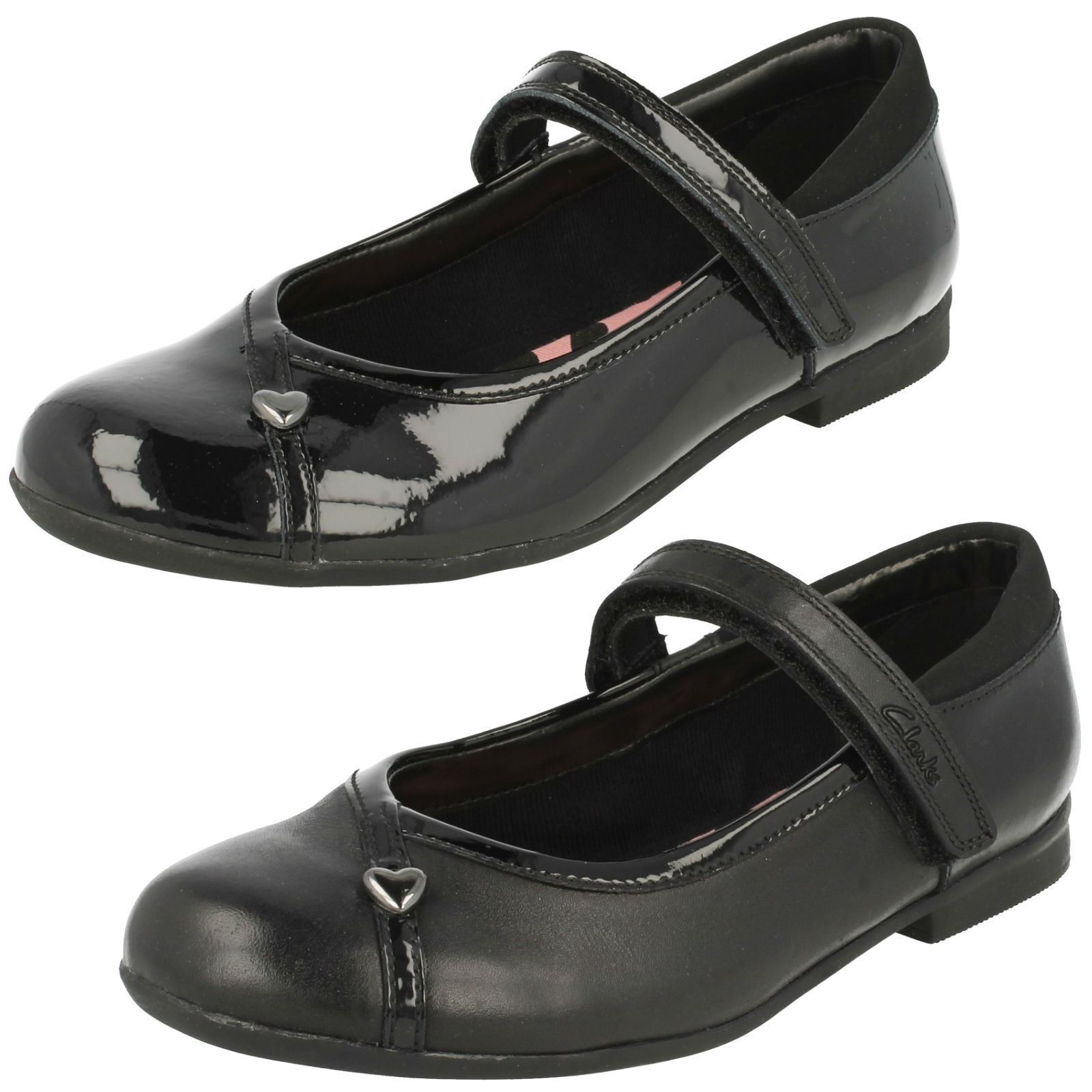 Girls Clarks Smart School Shoes Movello Lo Clothes, Shoes & Accessories Kids' Clothes, Shoes & Accs.