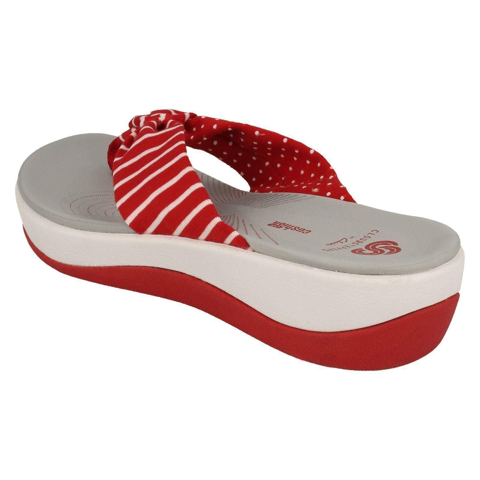 Ladies Clarks Toe Post Cloudsteppers Cloudsteppers Cloudsteppers Sandals Arla Glison 18 a78d4f